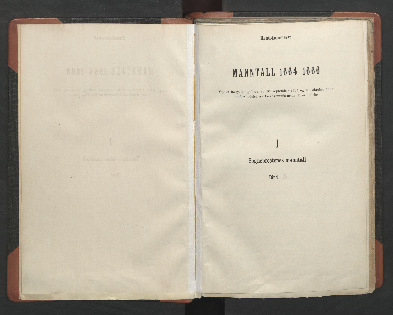 RA, Sogneprestenes manntall 1664-1666, nr. 8: Valdres prosti, 1664-1666, s. upaginert