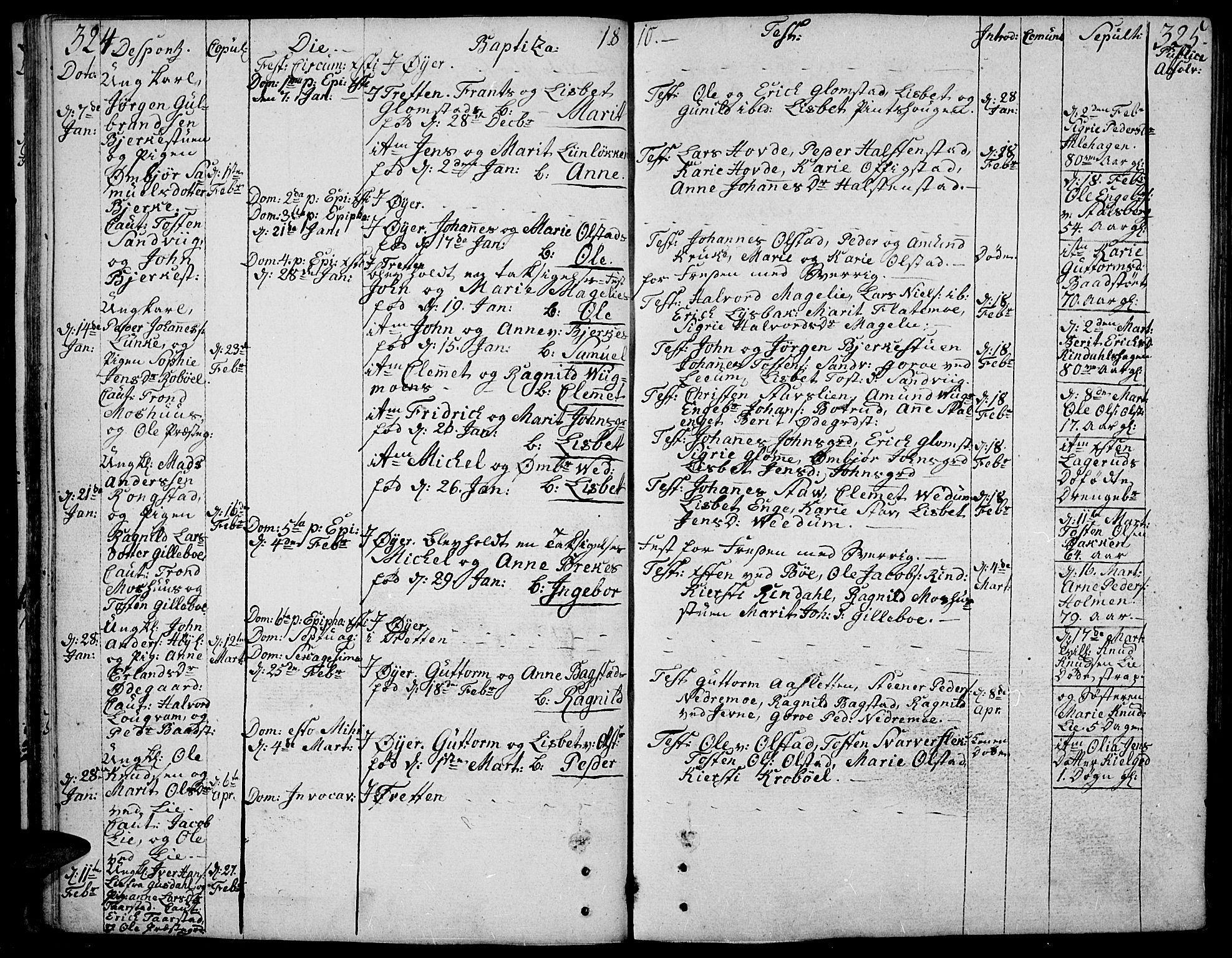SAH, Øyer prestekontor, Ministerialbok nr. 3, 1784-1824, s. 324-325