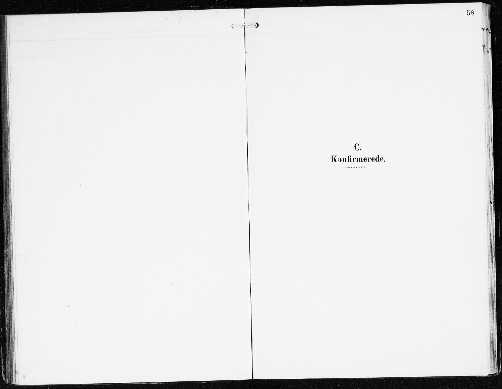 SAB, Bremanger Sokneprestembete, H/Haa: Ministerialbok nr. C 1, 1908-1921, s. 58