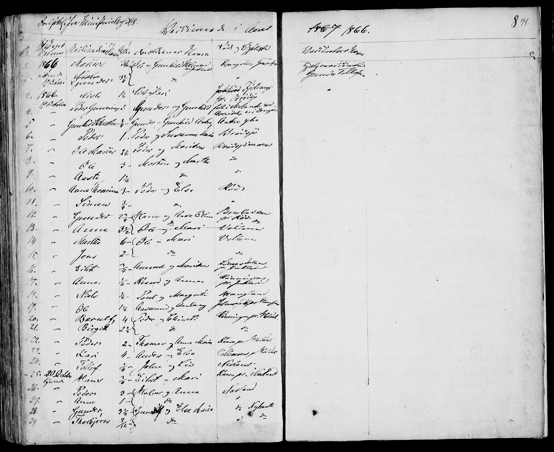 SAKO, Drangedal kirkebøker, F/Fa/L0007b: Ministerialbok nr. 7b, 1837-1856, s. 841