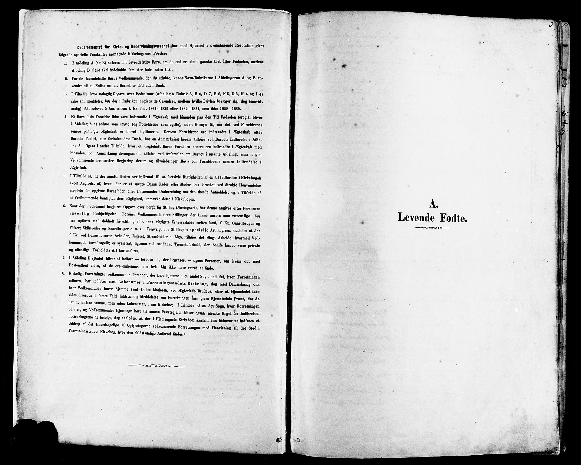 SAST, Finnøy sokneprestkontor, H/Ha/Haa/L0010: Ministerialbok nr. A 10, 1879-1890, s. 3