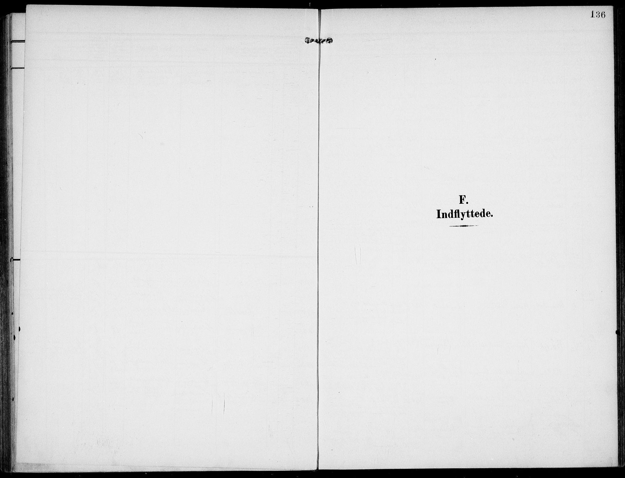 SAKO, Lunde kirkebøker, F/Fa/L0004: Ministerialbok nr. I 4, 1902-1913, s. 136