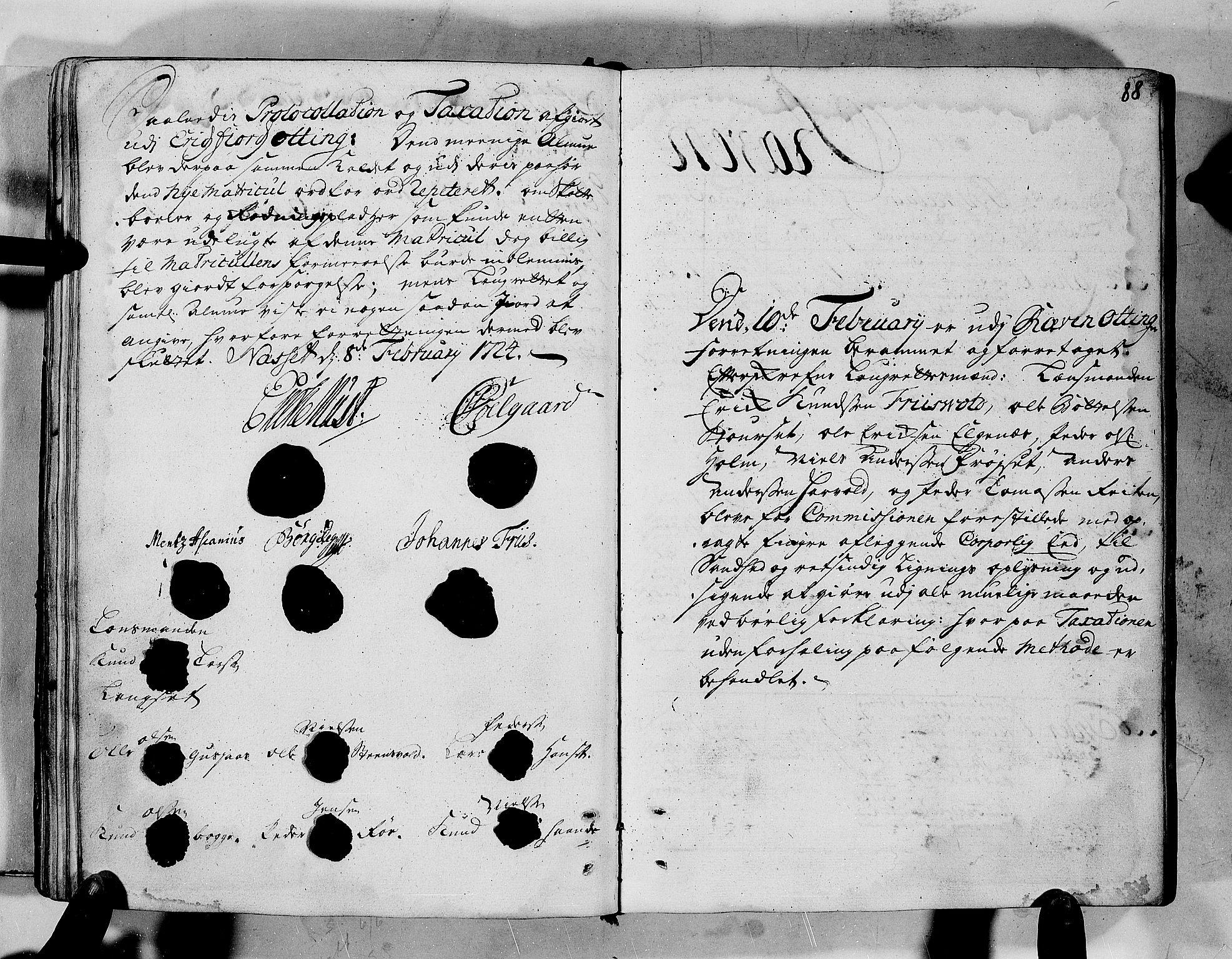 RA, Rentekammeret inntil 1814, Realistisk ordnet avdeling, N/Nb/Nbf/L0152: Romsdal eksaminasjonsprotokoll, 1724, s. 87b-88a