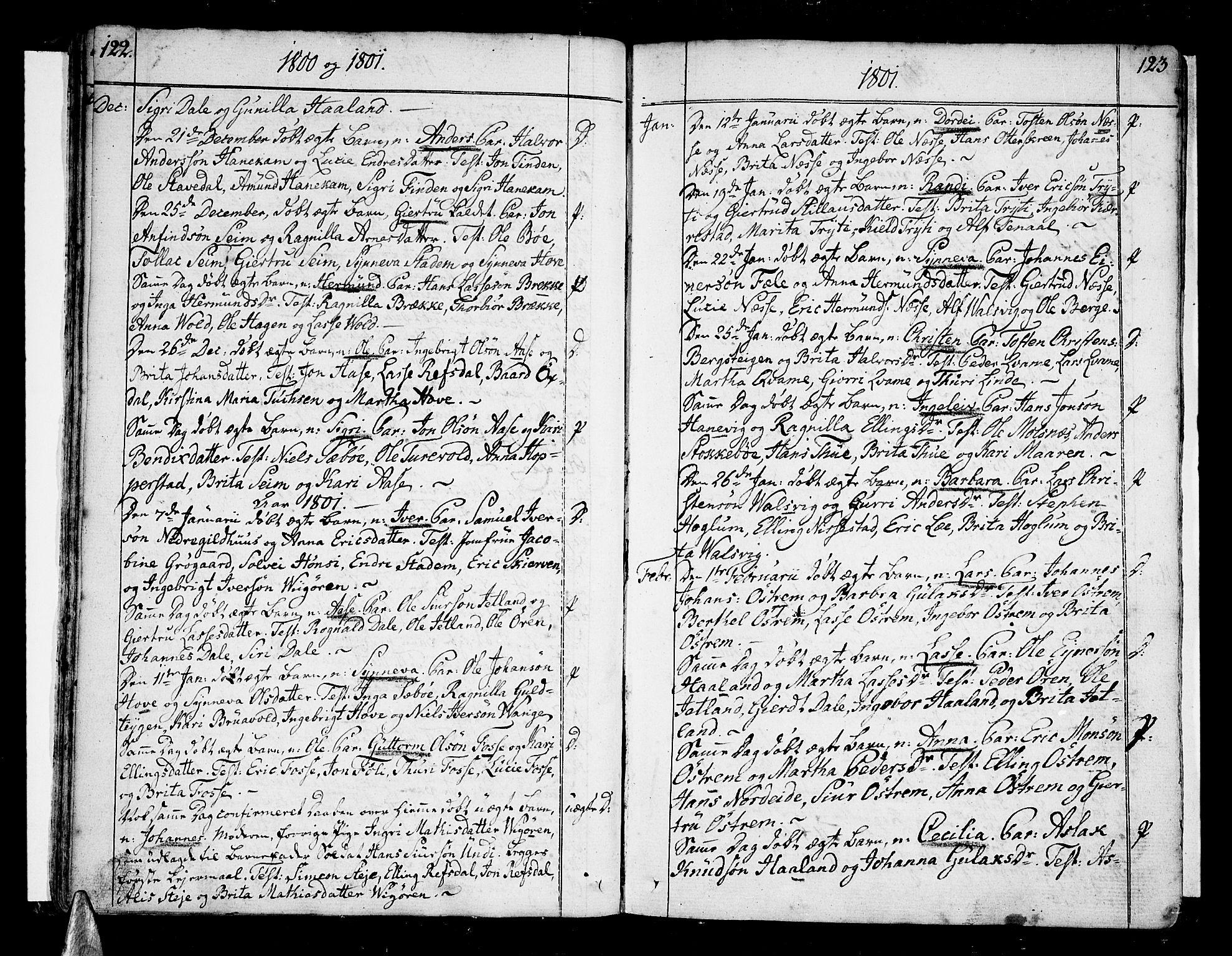 SAB, Vik Sokneprestembete, Ministerialbok nr. A 5, 1787-1820, s. 122-123
