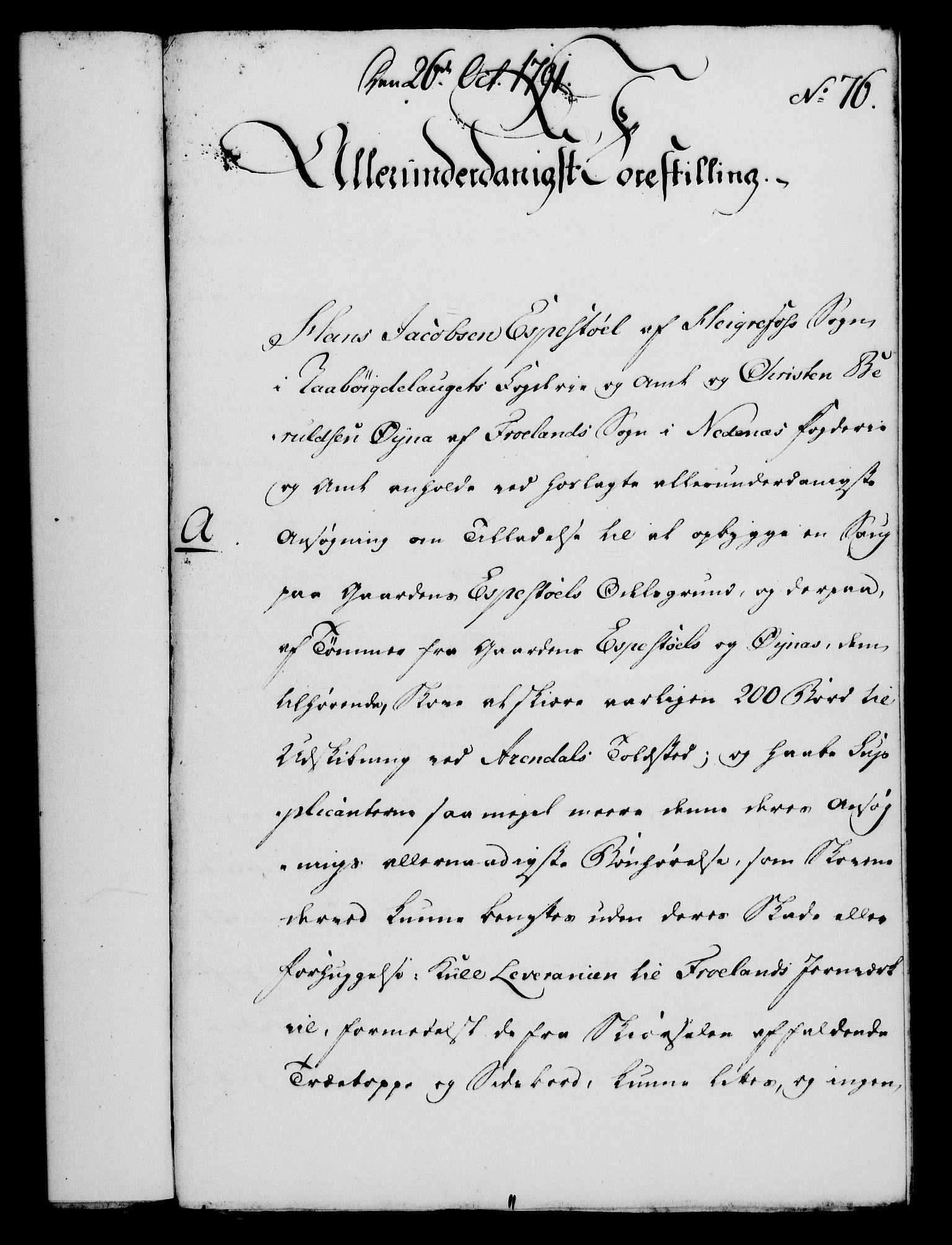 RA, Rentekammeret, Kammerkanselliet, G/Gf/Gfa/L0073: Norsk relasjons- og resolusjonsprotokoll (merket RK 52.73), 1791, s. 439