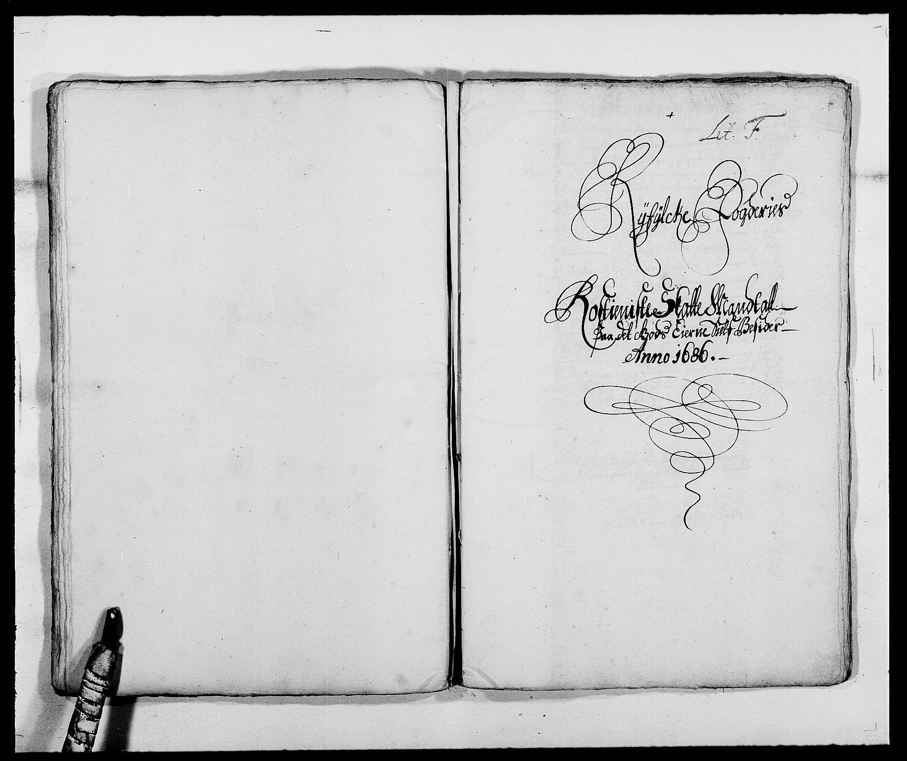 RA, Rentekammeret inntil 1814, Reviderte regnskaper, Fogderegnskap, R47/L2855: Fogderegnskap Ryfylke, 1685-1688, s. 165