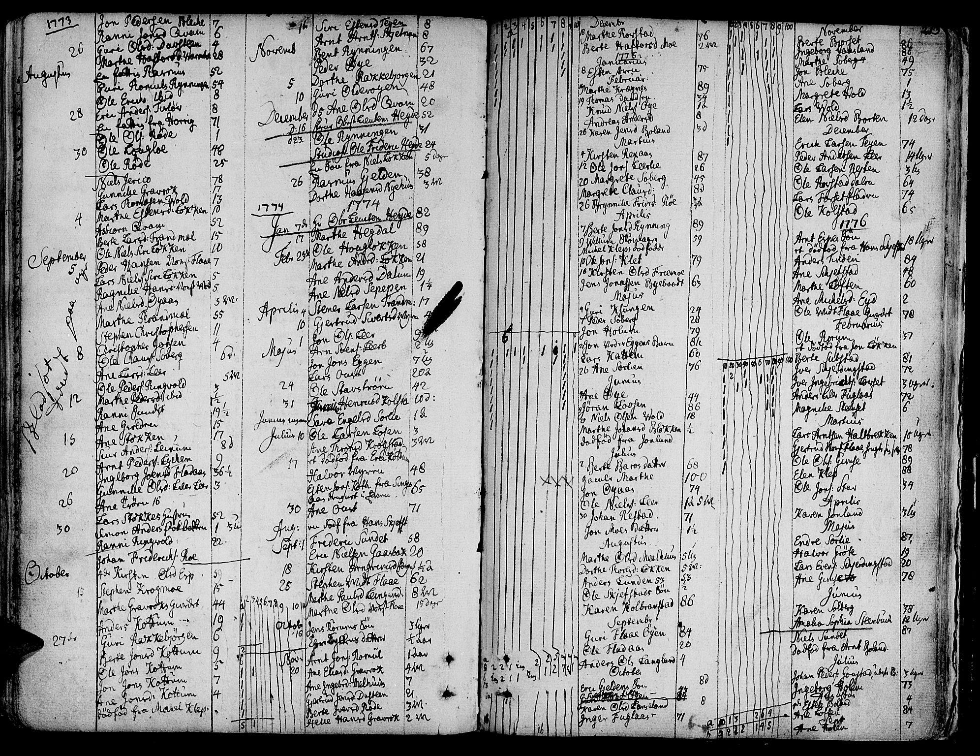 SAT, Ministerialprotokoller, klokkerbøker og fødselsregistre - Sør-Trøndelag, 691/L1061: Ministerialbok nr. 691A02 /1, 1768-1815, s. 213