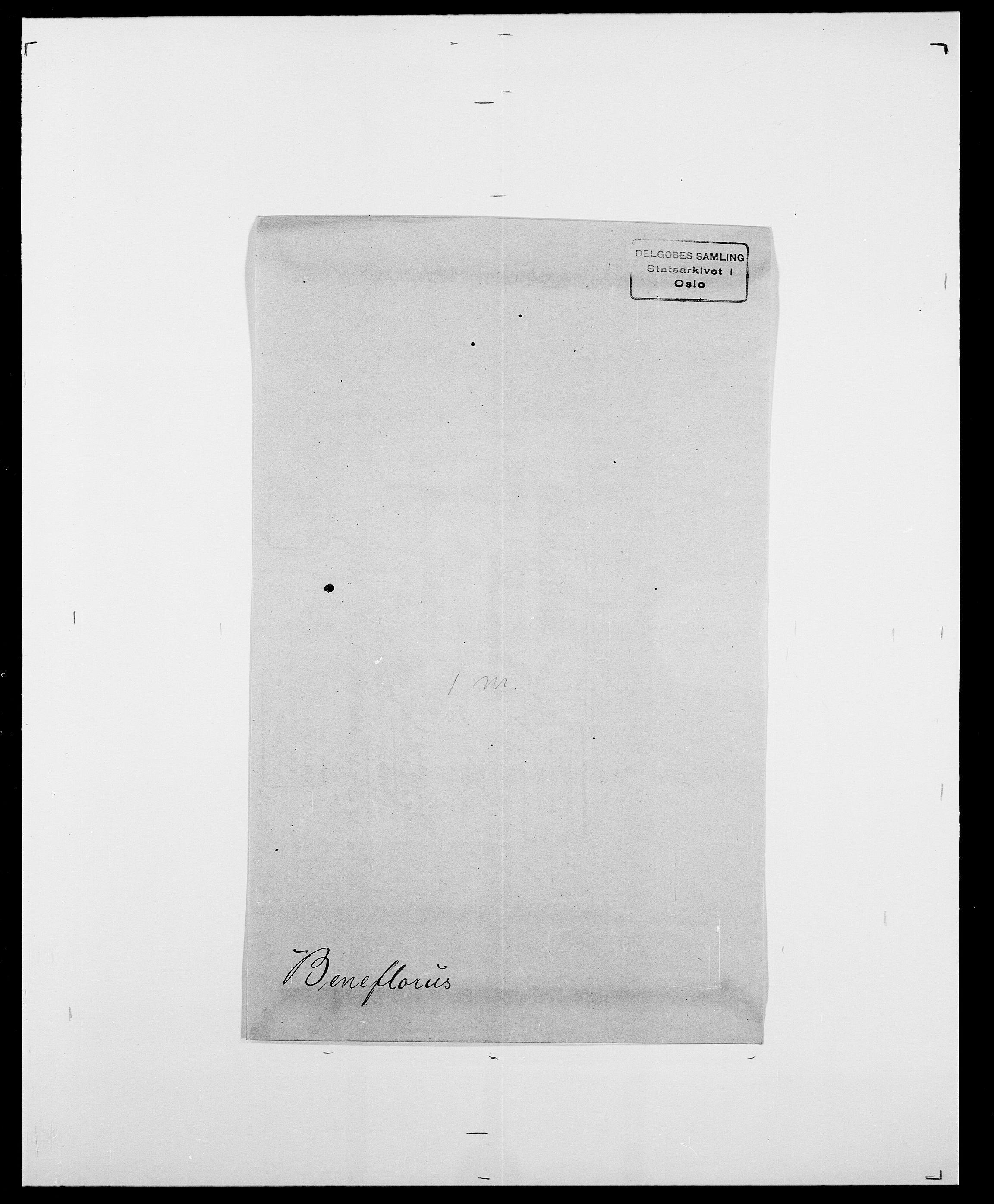 SAO, Delgobe, Charles Antoine - samling, D/Da/L0003: Barca - Bergen, s. 757