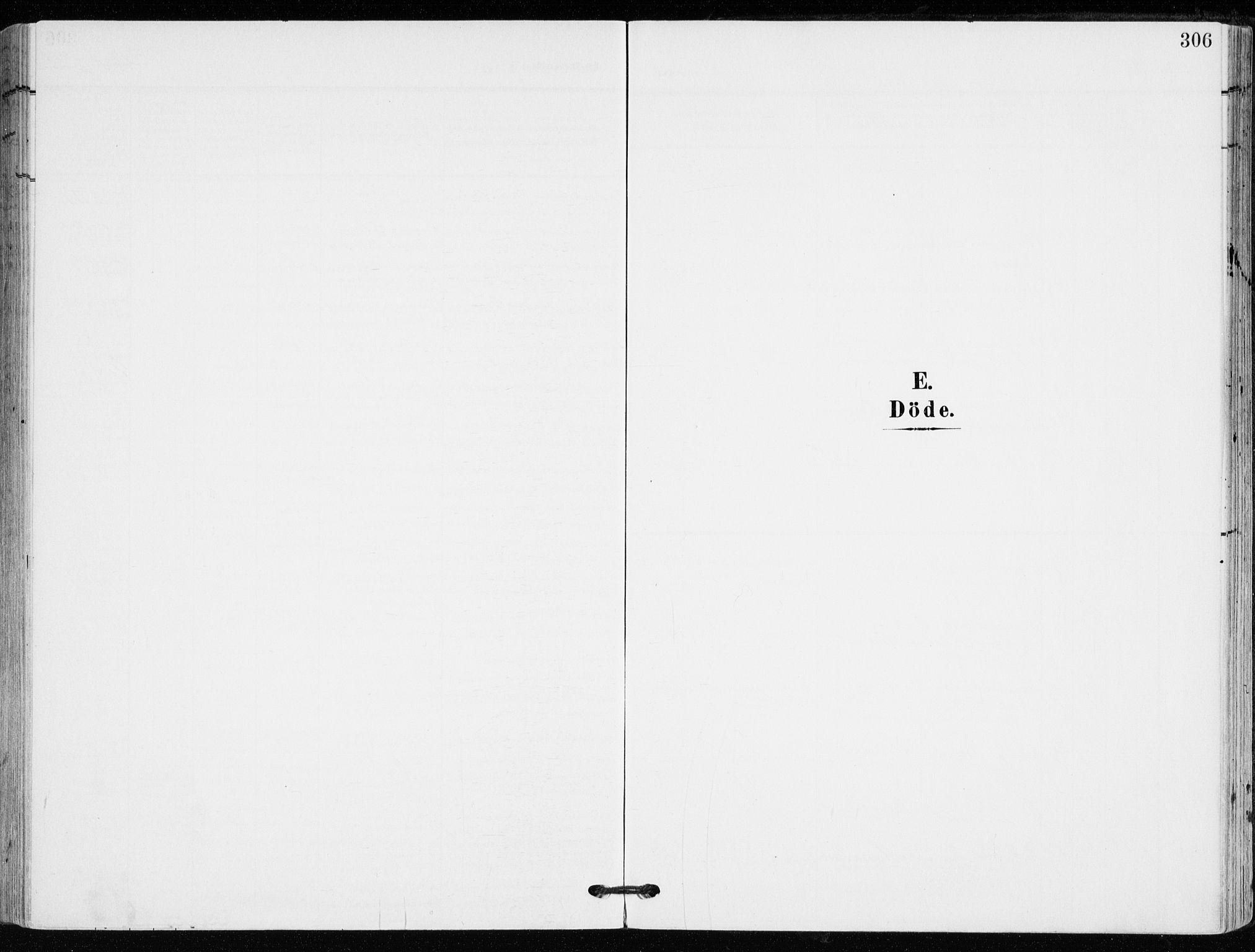 SAKO, Kongsberg kirkebøker, F/Fb/L0004: Ministerialbok nr. II 4, 1906-1918, s. 306