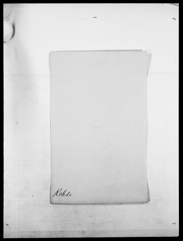 SAO, Delgobe, Charles Antoine - samling, D/Da/L0033: Roald - Røyem, s. 110