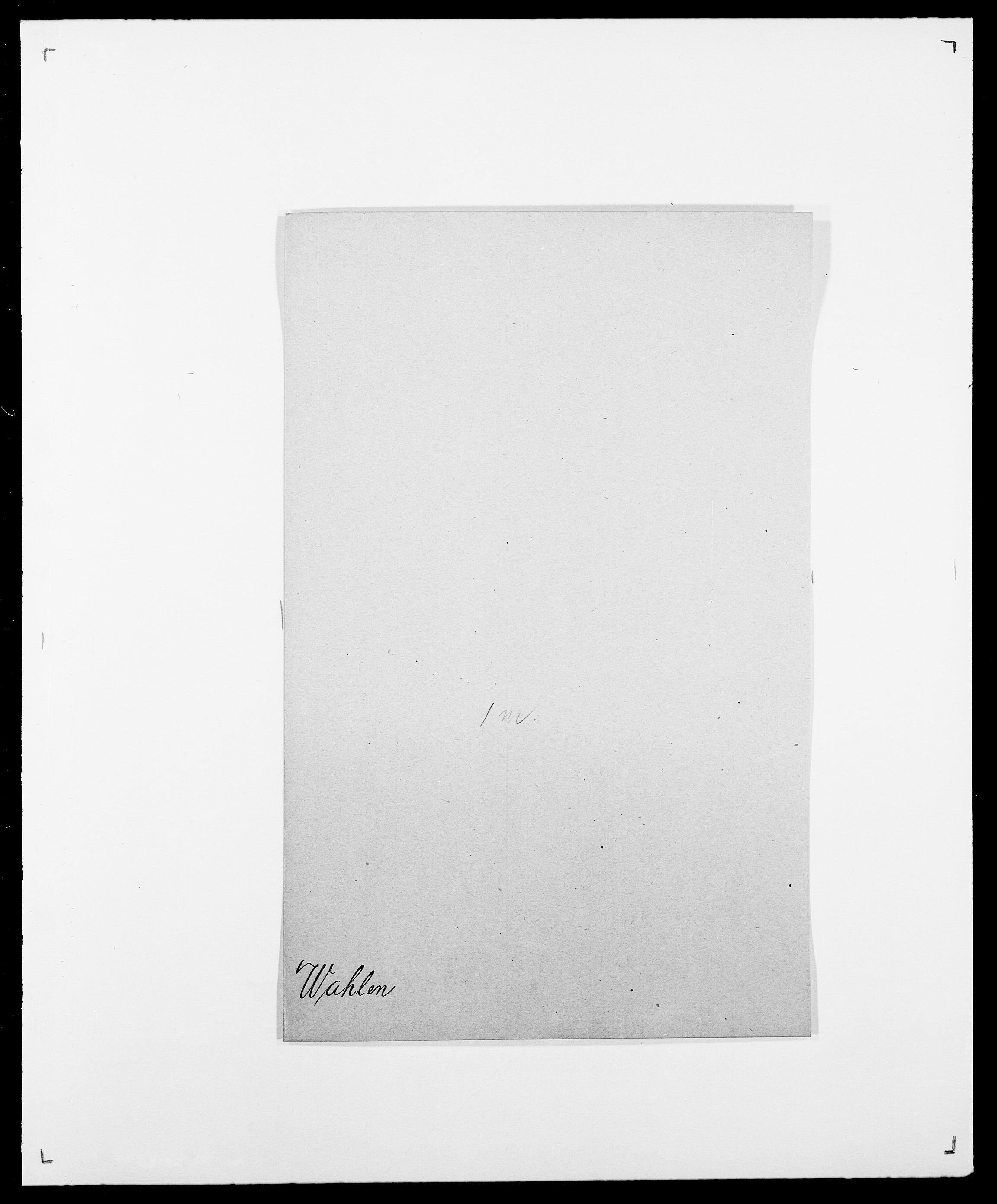 SAO, Delgobe, Charles Antoine - samling, D/Da/L0040: Usgaard - Velund, s. 116
