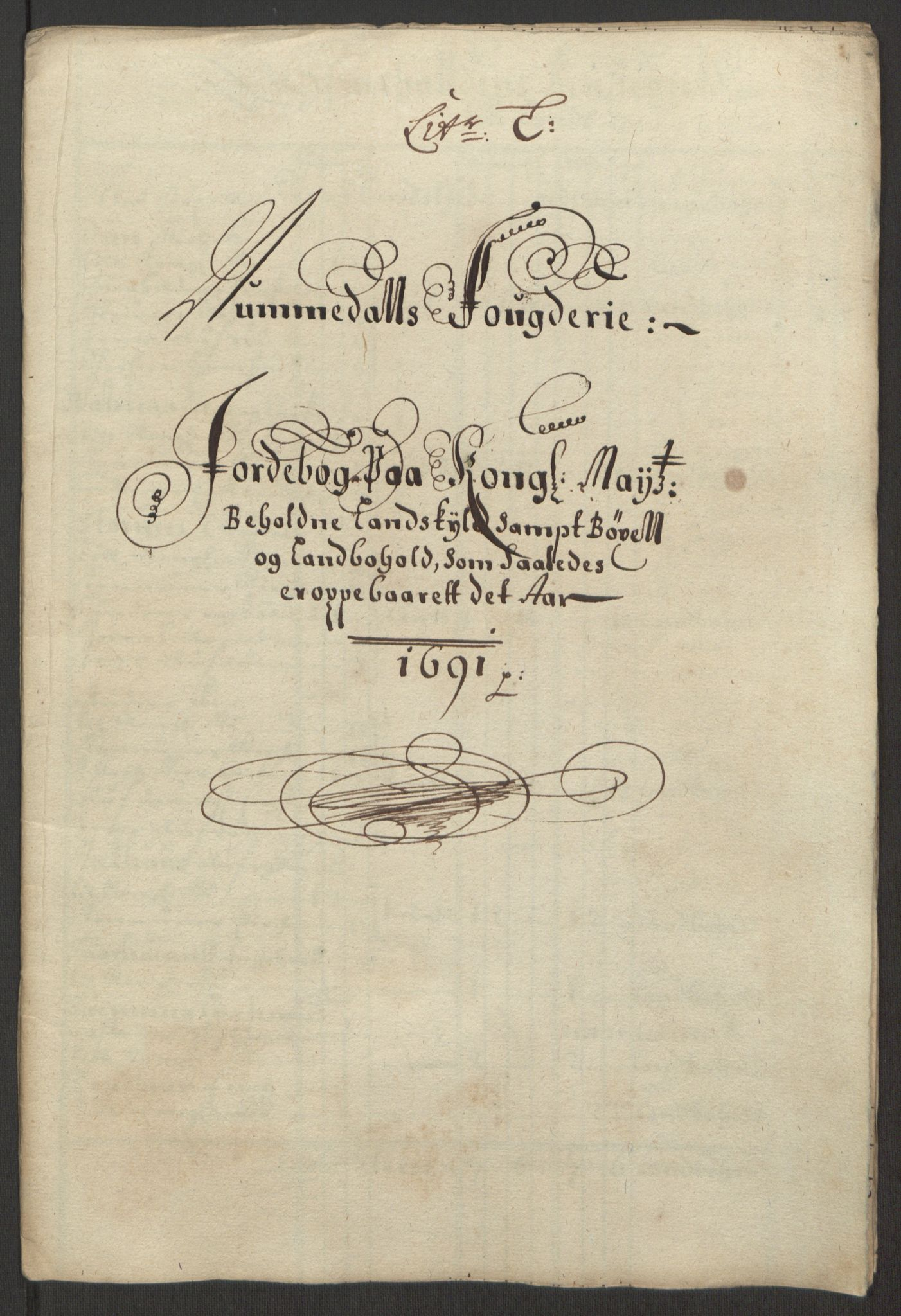 RA, Rentekammeret inntil 1814, Reviderte regnskaper, Fogderegnskap, R64/L4423: Fogderegnskap Namdal, 1690-1691, s. 279