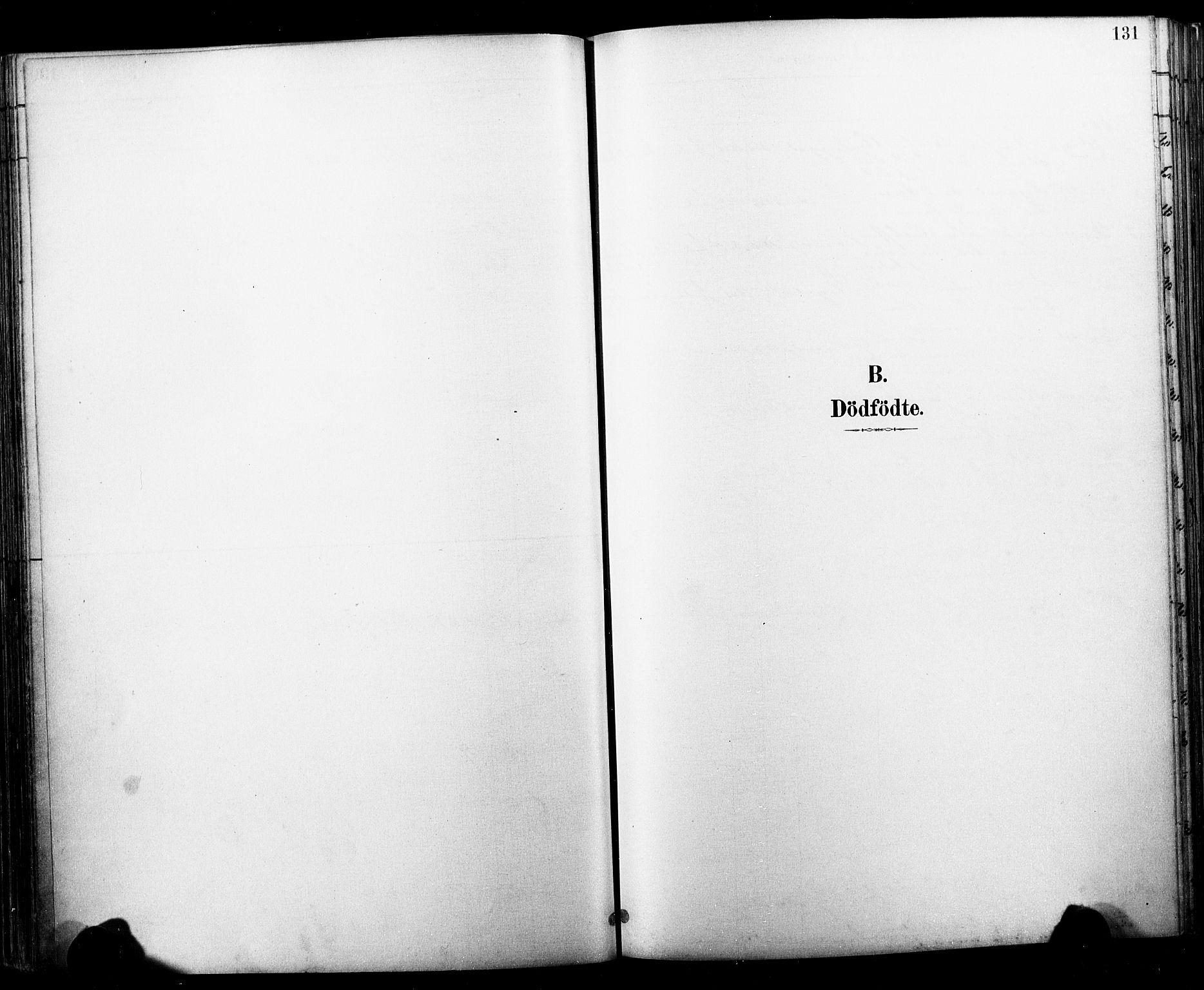 SAKO, Horten kirkebøker, F/Fa/L0004: Ministerialbok nr. 4, 1888-1895, s. 131