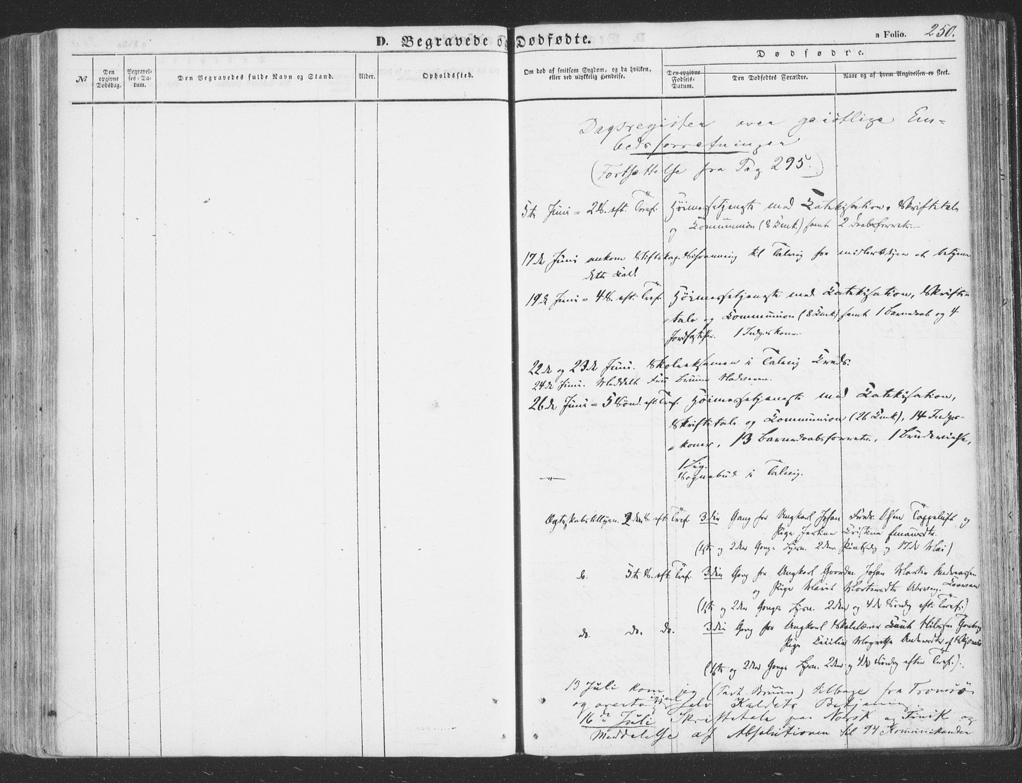 SATØ, Talvik sokneprestkontor, H/Ha/L0010kirke: Ministerialbok nr. 10, 1852-1864, s. 250
