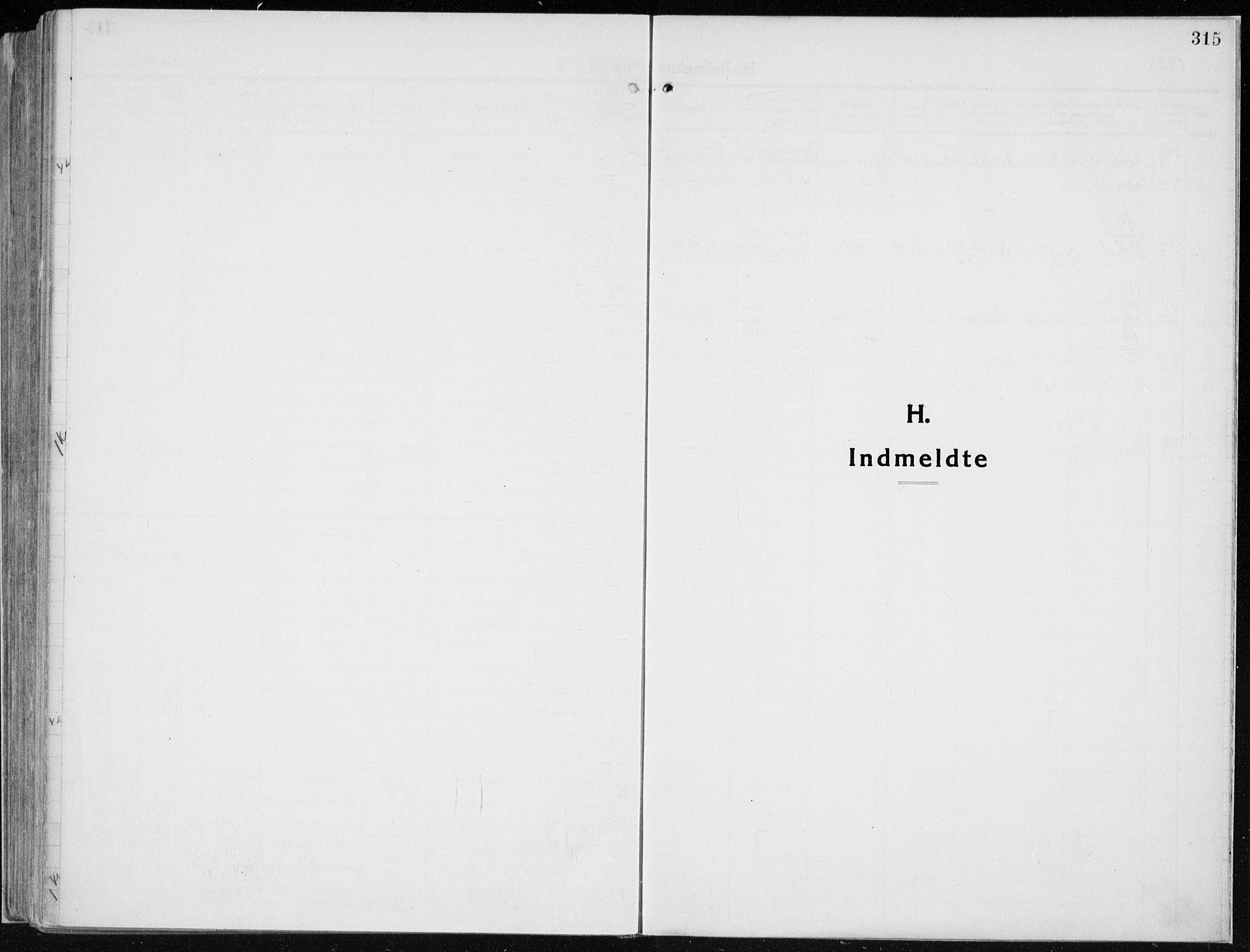 SAH, Vardal prestekontor, H/Ha/Haa/L0015: Ministerialbok nr. 15, 1923-1937, s. 315