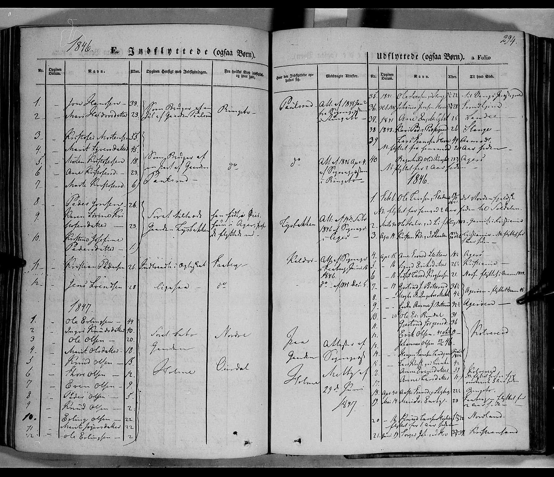 SAH, Øyer prestekontor, Ministerialbok nr. 5, 1842-1857, s. 294