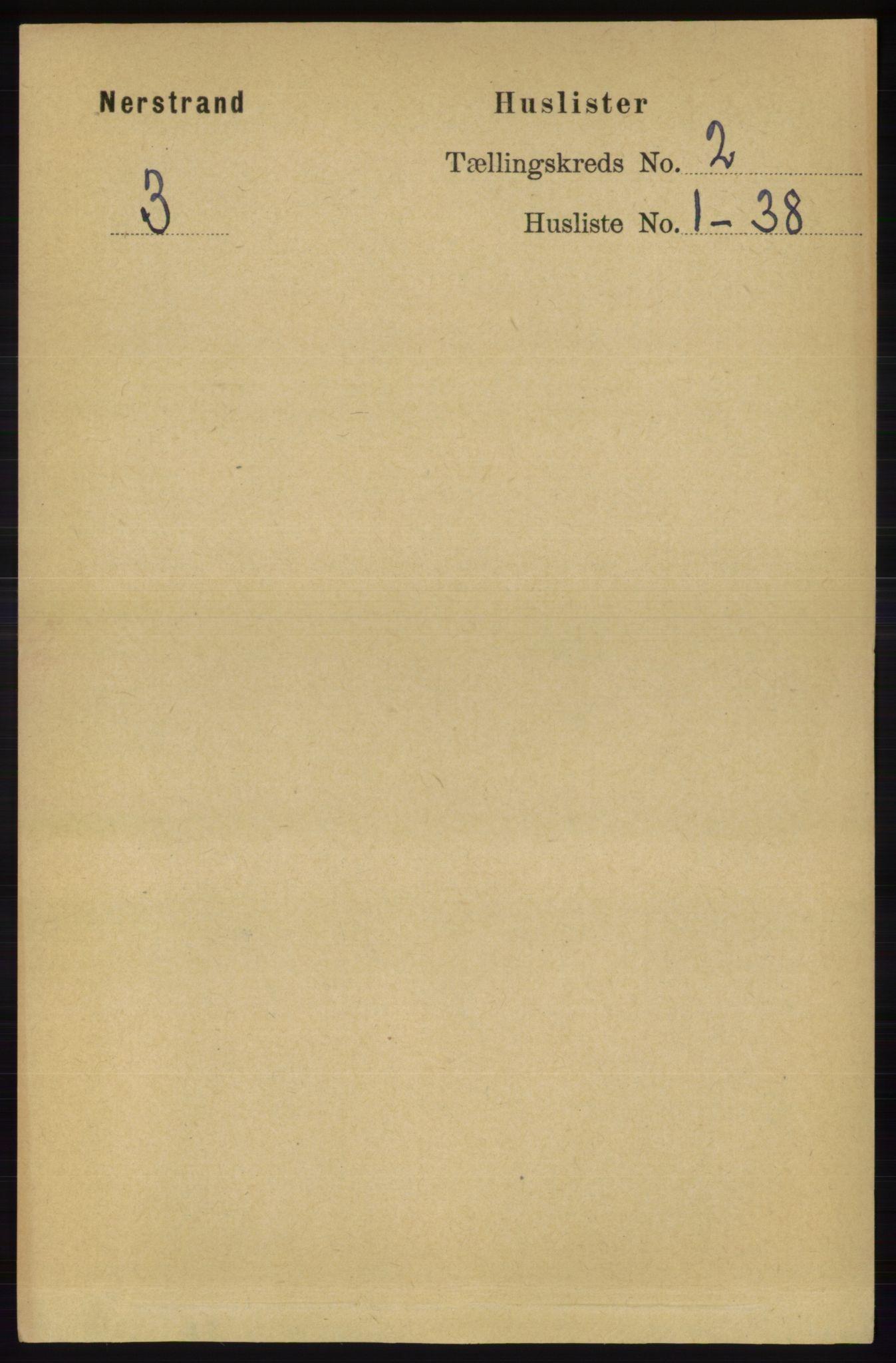 RA, Folketelling 1891 for 1139 Nedstrand herred, 1891, s. 204