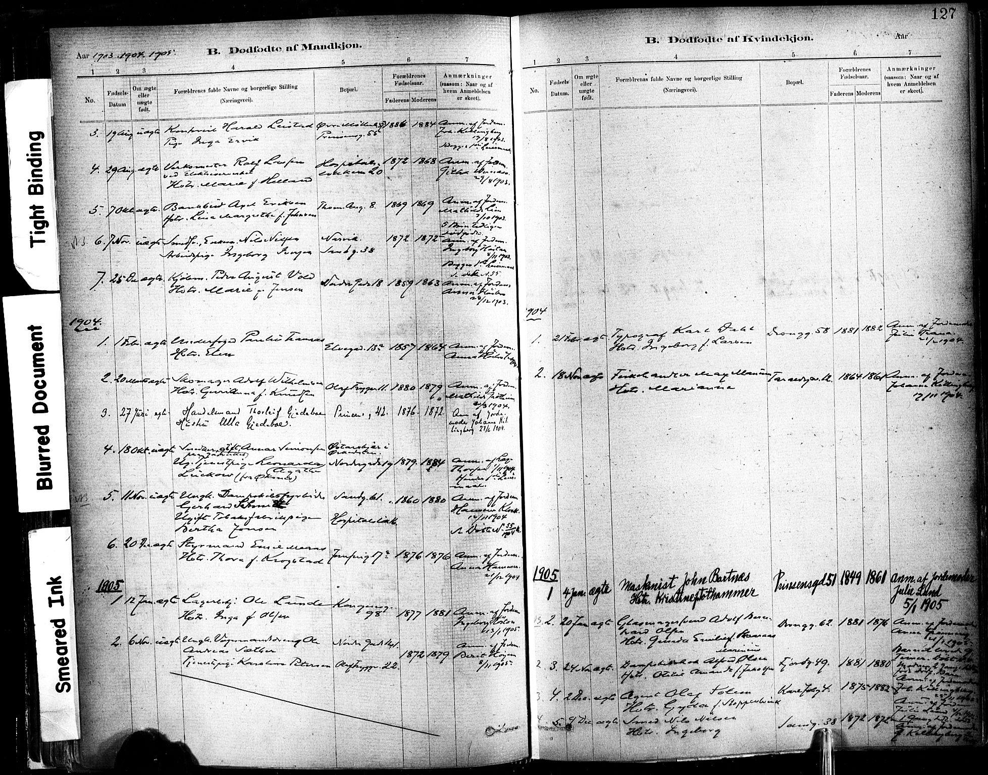 SAT, Ministerialprotokoller, klokkerbøker og fødselsregistre - Sør-Trøndelag, 602/L0119: Ministerialbok nr. 602A17, 1880-1901, s. 127