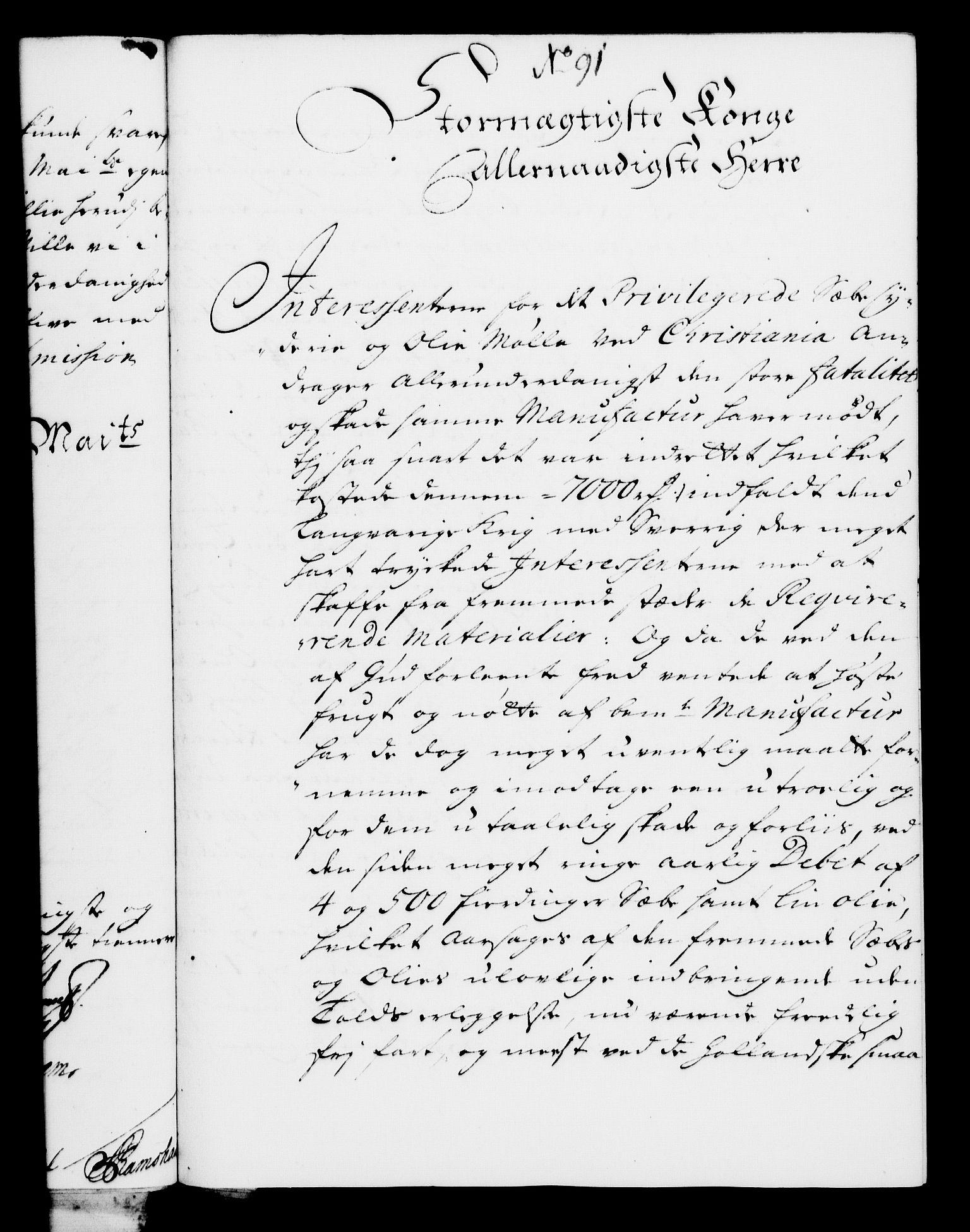 RA, Rentekammeret, Kammerkanselliet, G/Gf/Gfa/L0008: Norsk relasjons- og resolusjonsprotokoll (merket RK 52.8), 1725, s. 531