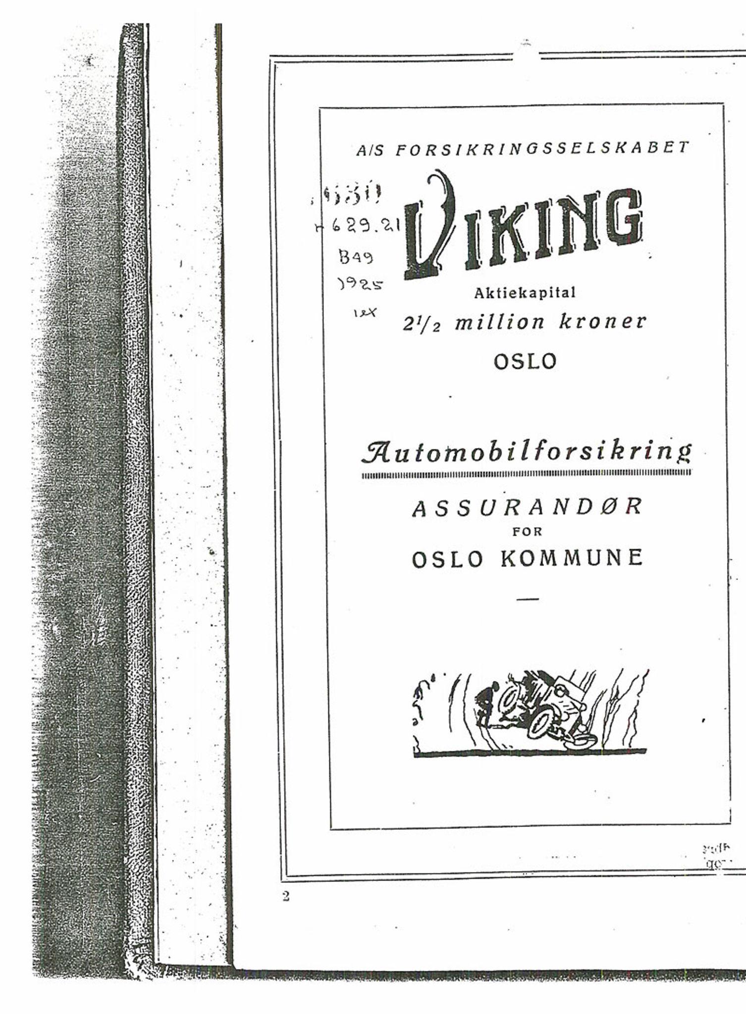 PUBL, Andre publikasjoner, -/-: Bilboken for Norge 1925, 1925