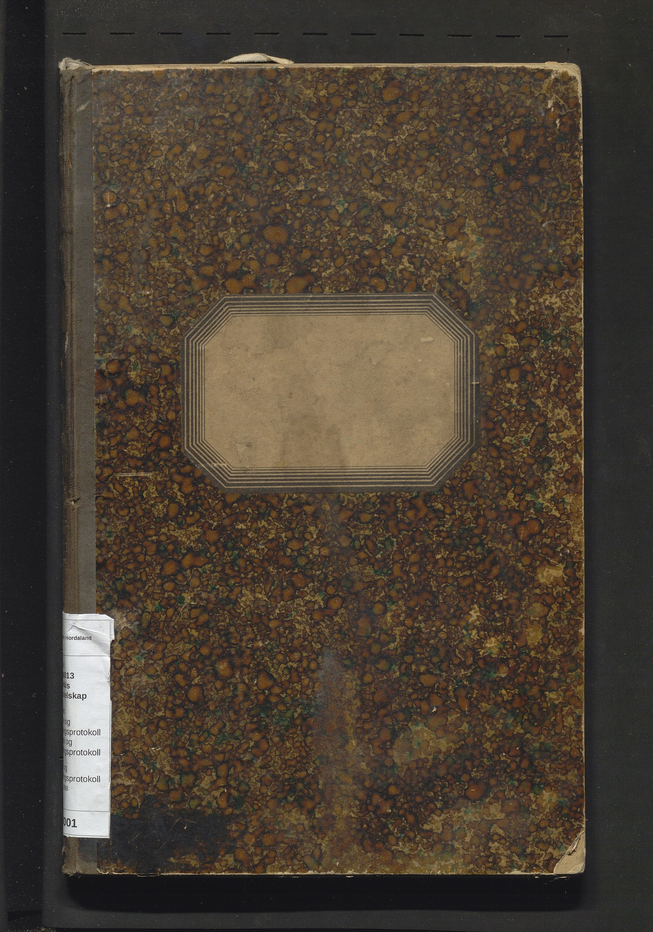 IKAH, Lyngedals dampskipsselskap, A/Aa/L0001: Styre og generalforsamlingsprotokoll for Lyngedals dampskipsselskap, 1892-1898