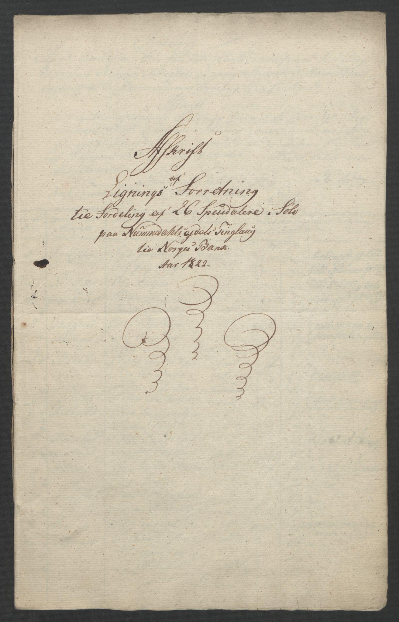 NOBA, Norges Bank/Sølvskatten 1816*, 1816-1822, s. 42