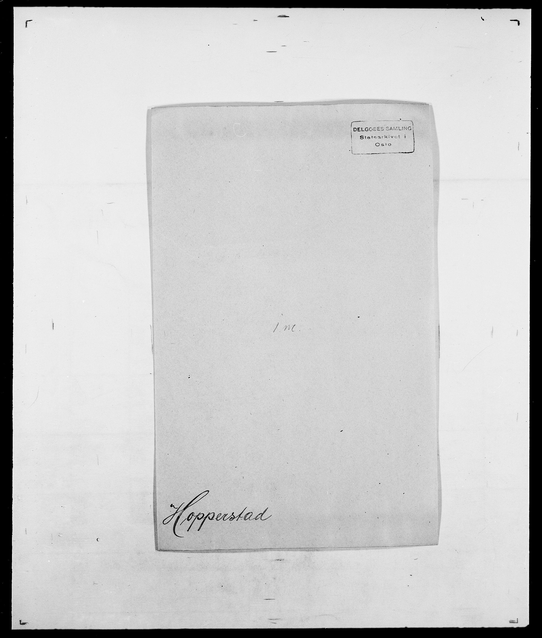SAO, Delgobe, Charles Antoine - samling, D/Da/L0018: Hoch - Howert, s. 935