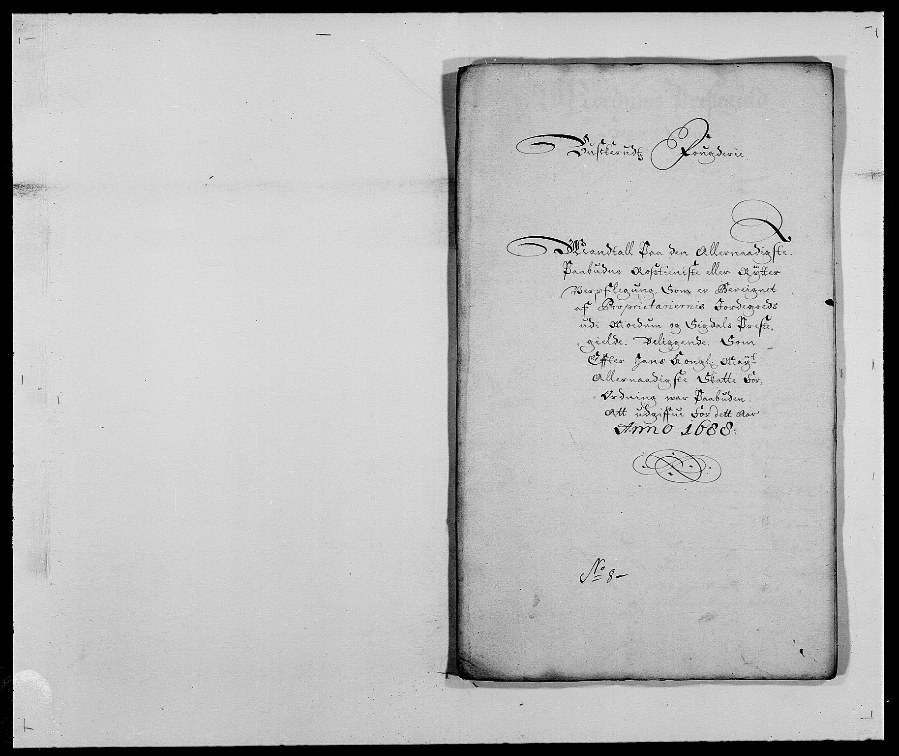 RA, Rentekammeret inntil 1814, Reviderte regnskaper, Fogderegnskap, R25/L1679: Fogderegnskap Buskerud, 1687-1688, s. 481