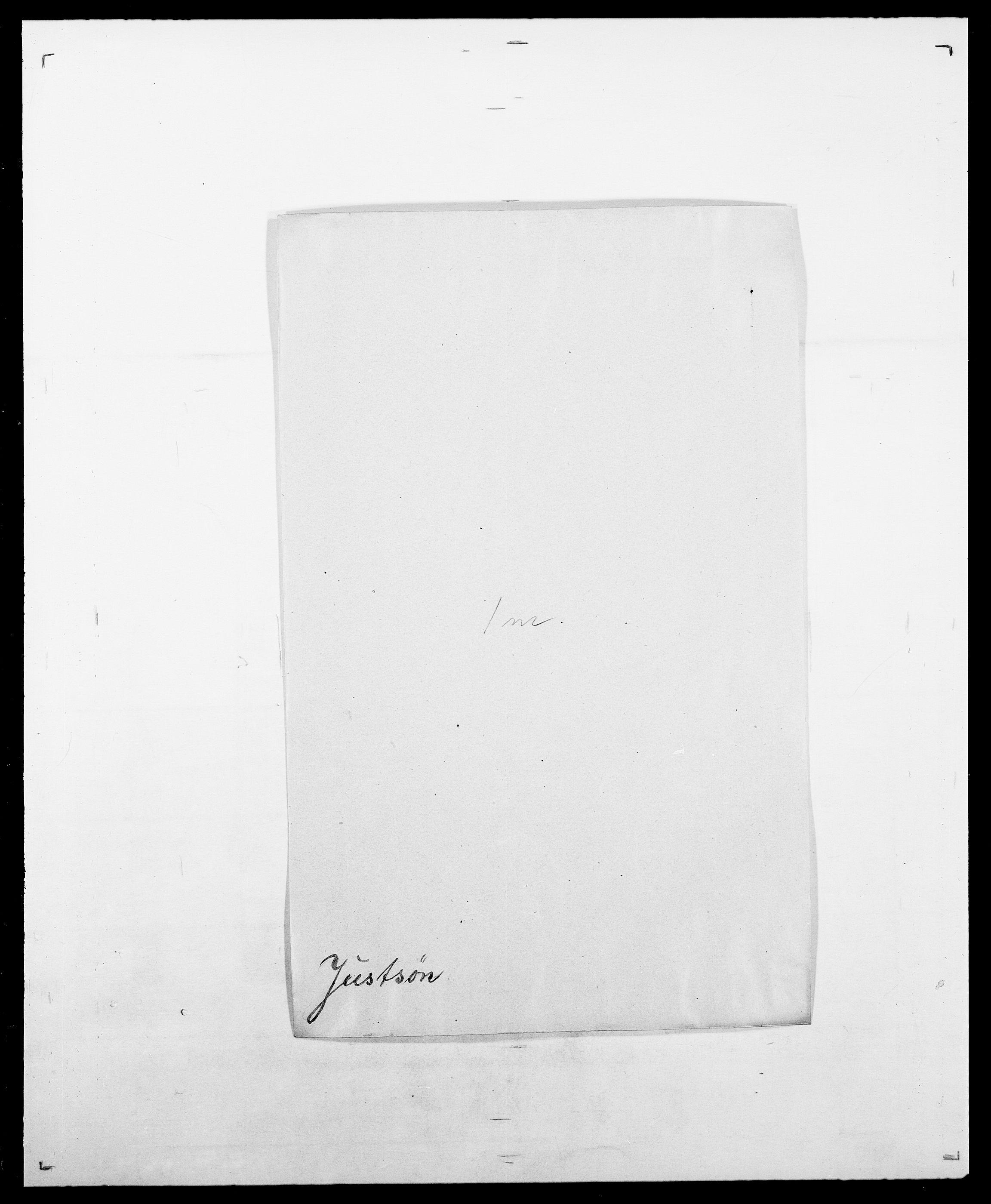 SAO, Delgobe, Charles Antoine - samling, D/Da/L0020: Irgens - Kjøsterud, s. 190