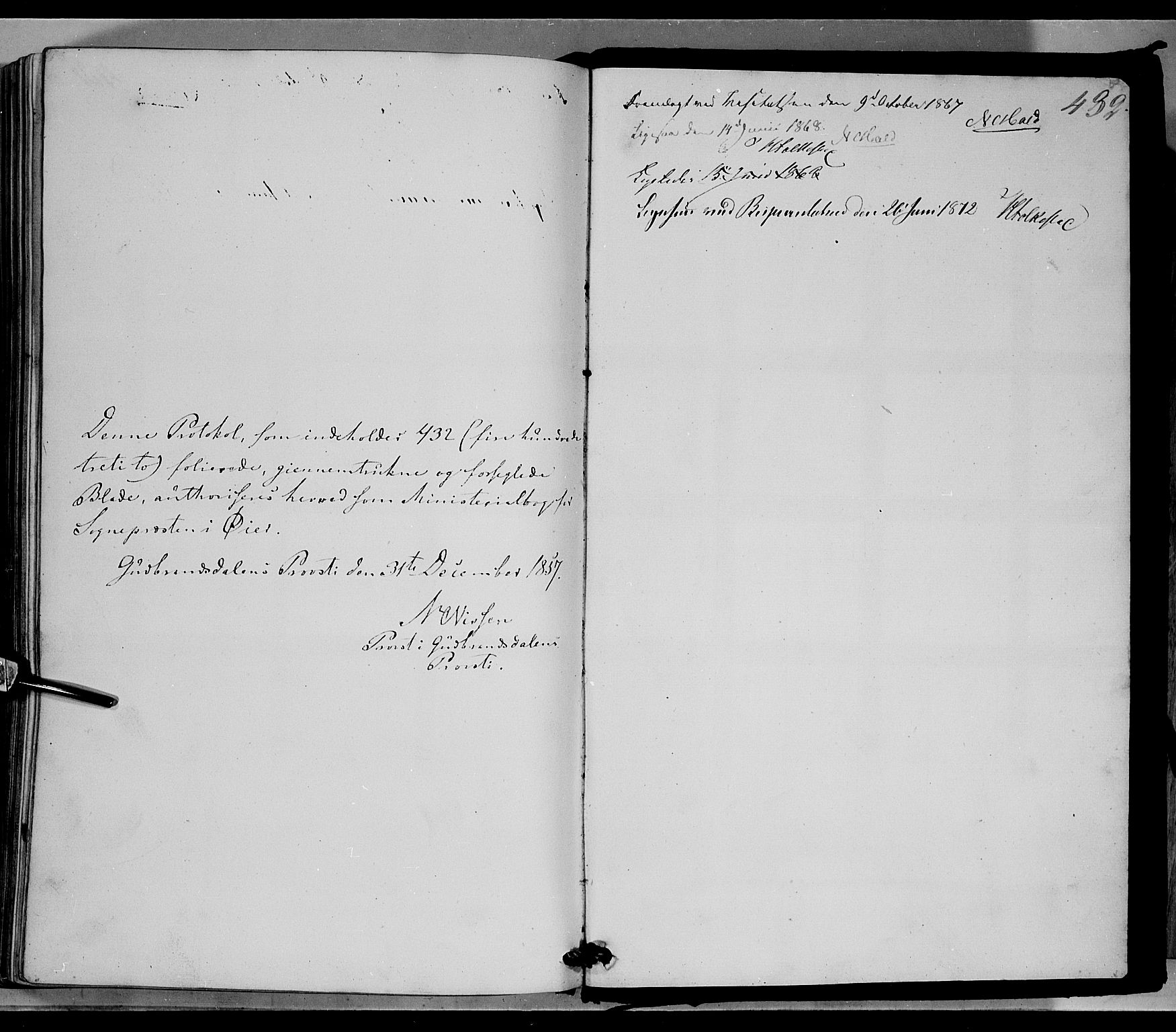 SAH, Øyer prestekontor, Ministerialbok nr. 6, 1858-1874, s. 432