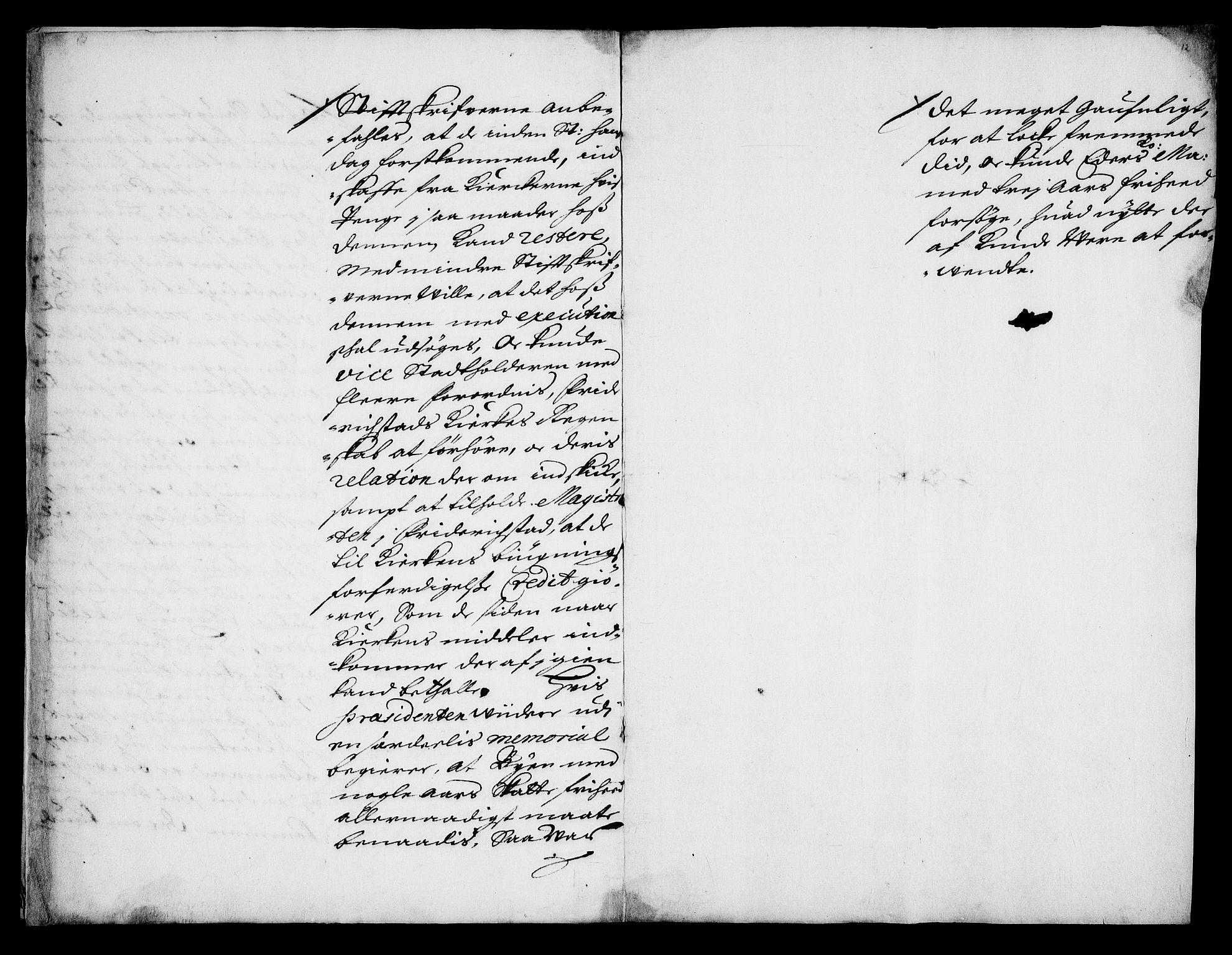 RA, Danske Kanselli, Skapsaker, G/L0019: Tillegg til skapsakene, 1616-1753, s. 46