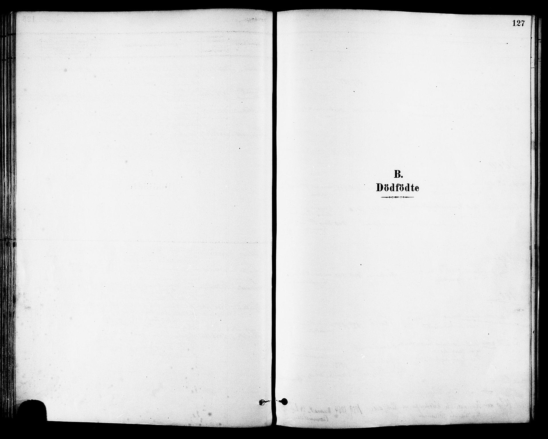 SAT, Ministerialprotokoller, klokkerbøker og fødselsregistre - Sør-Trøndelag, 630/L0496: Ministerialbok nr. 630A09, 1879-1895, s. 127