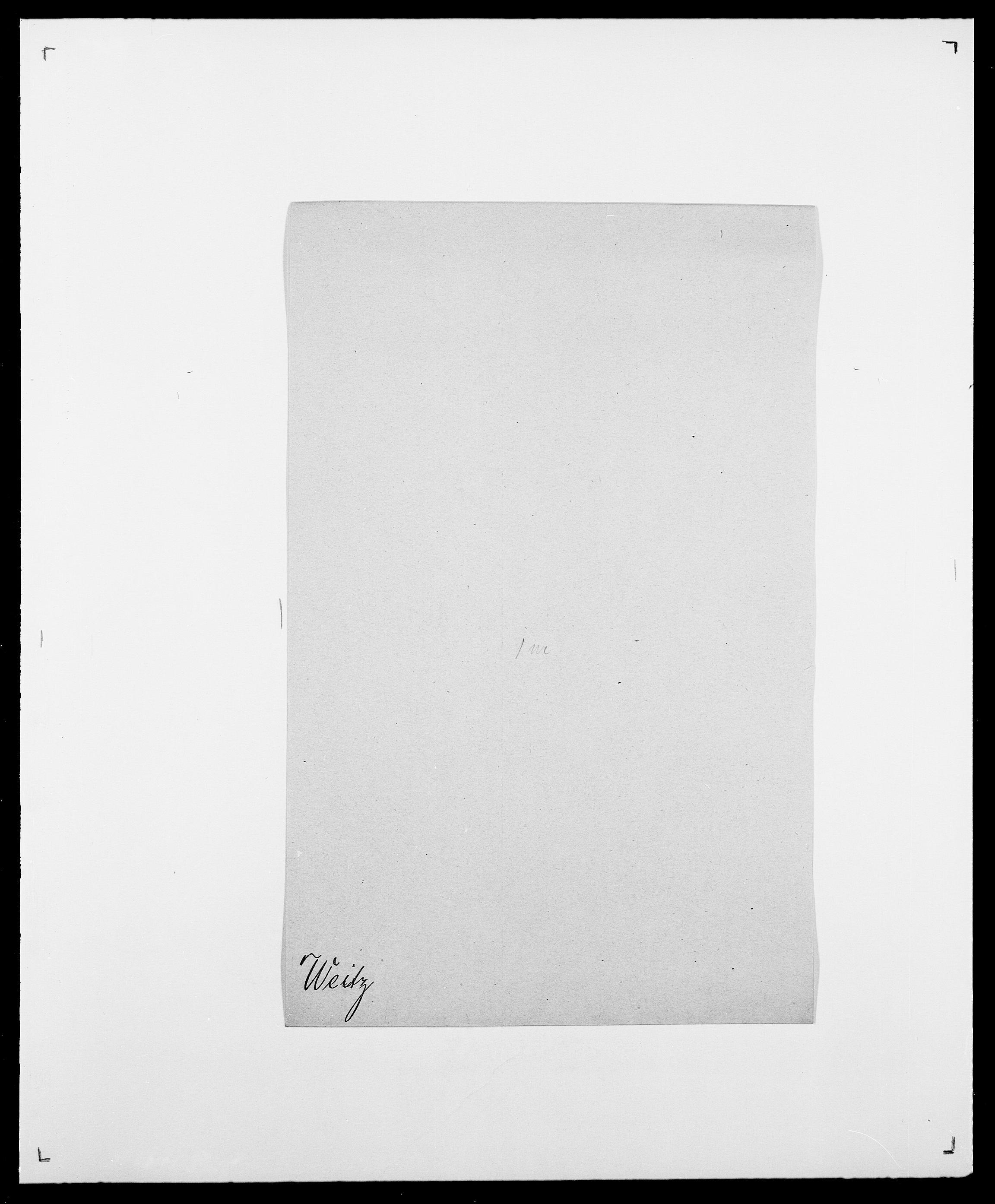 SAO, Delgobe, Charles Antoine - samling, D/Da/L0040: Usgaard - Velund, s. 618