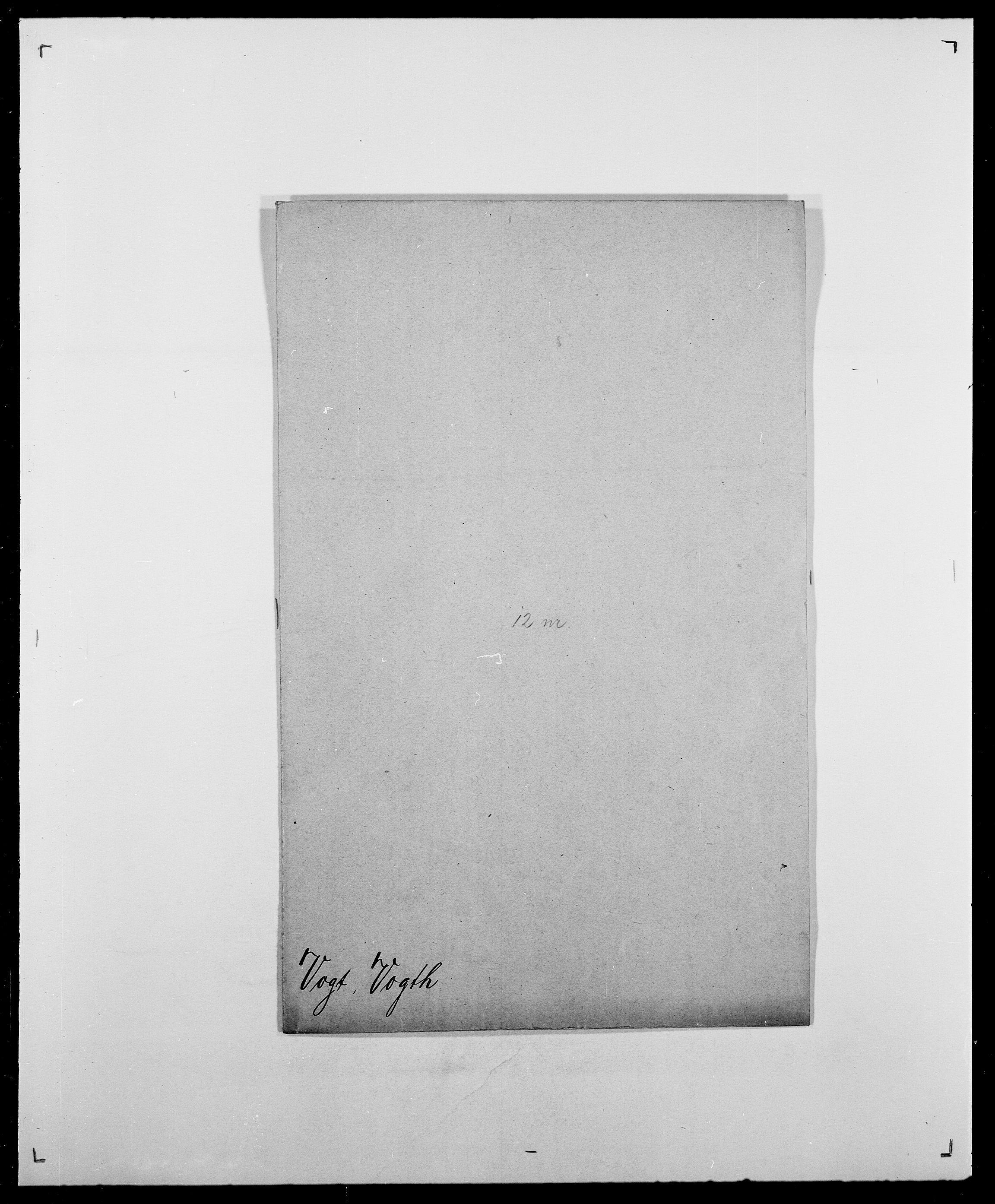 SAO, Delgobe, Charles Antoine - samling, D/Da/L0042: Vilain - Wulf, Wulff, se også Wolf, s. 556