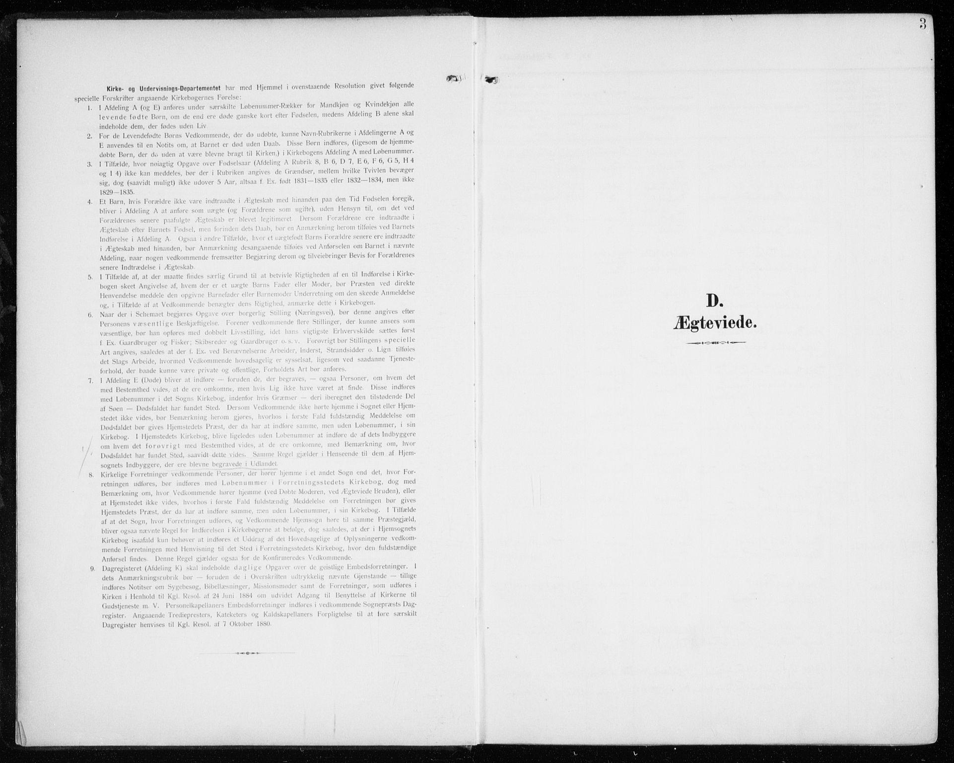 SATØ, Tromsø sokneprestkontor/stiftsprosti/domprosti, G/Ga/L0018kirke: Ministerialbok nr. 18, 1907-1917, s. 3
