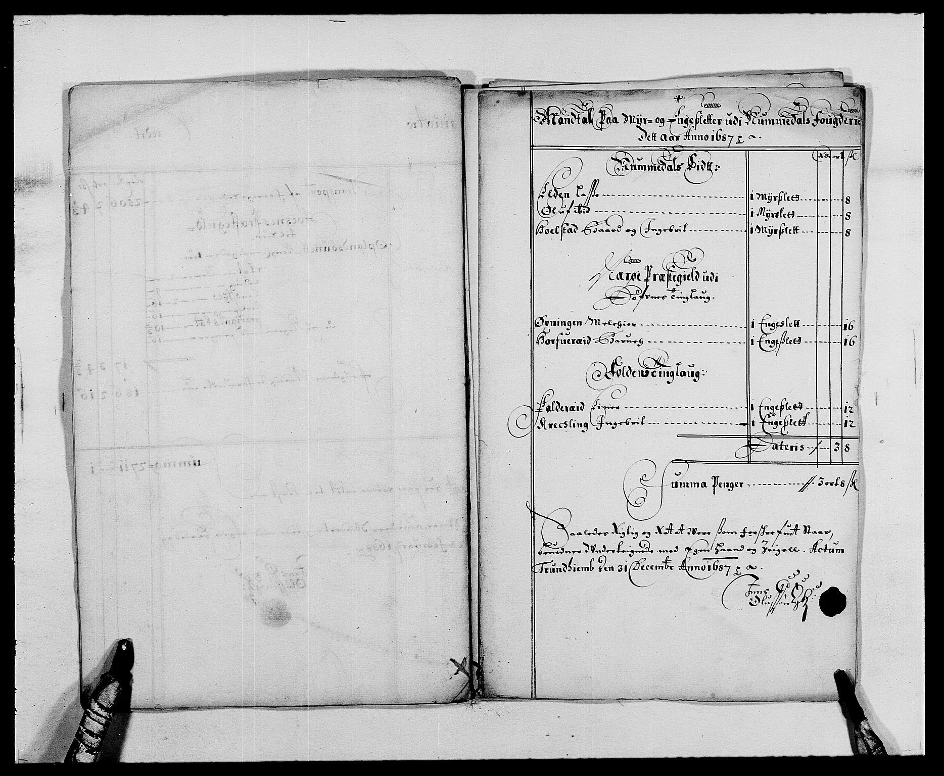 RA, Rentekammeret inntil 1814, Reviderte regnskaper, Fogderegnskap, R64/L4422: Fogderegnskap Namdal, 1687-1689, s. 10