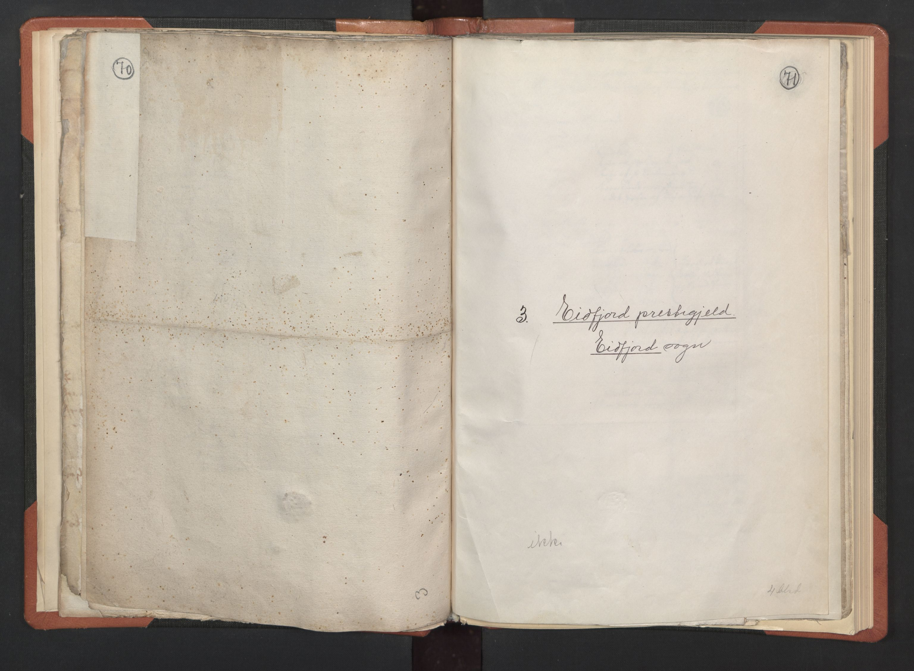RA, Sogneprestenes manntall 1664-1666, nr. 21: Hardanger prosti, 1664-1666, s. 70-71