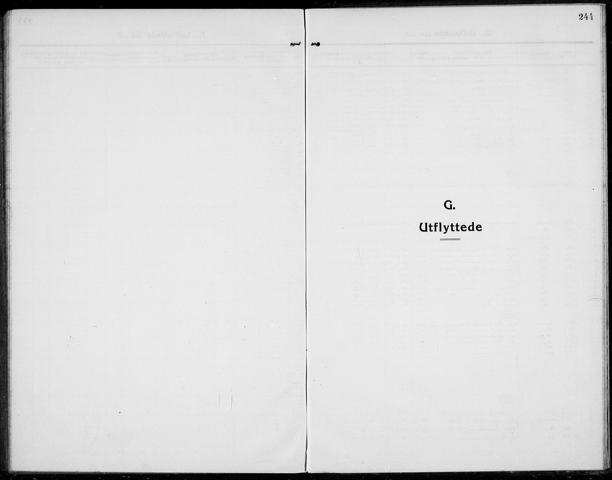 SAH, Jevnaker prestekontor, Ministerialbok nr. 12, 1914-1924, s. 244