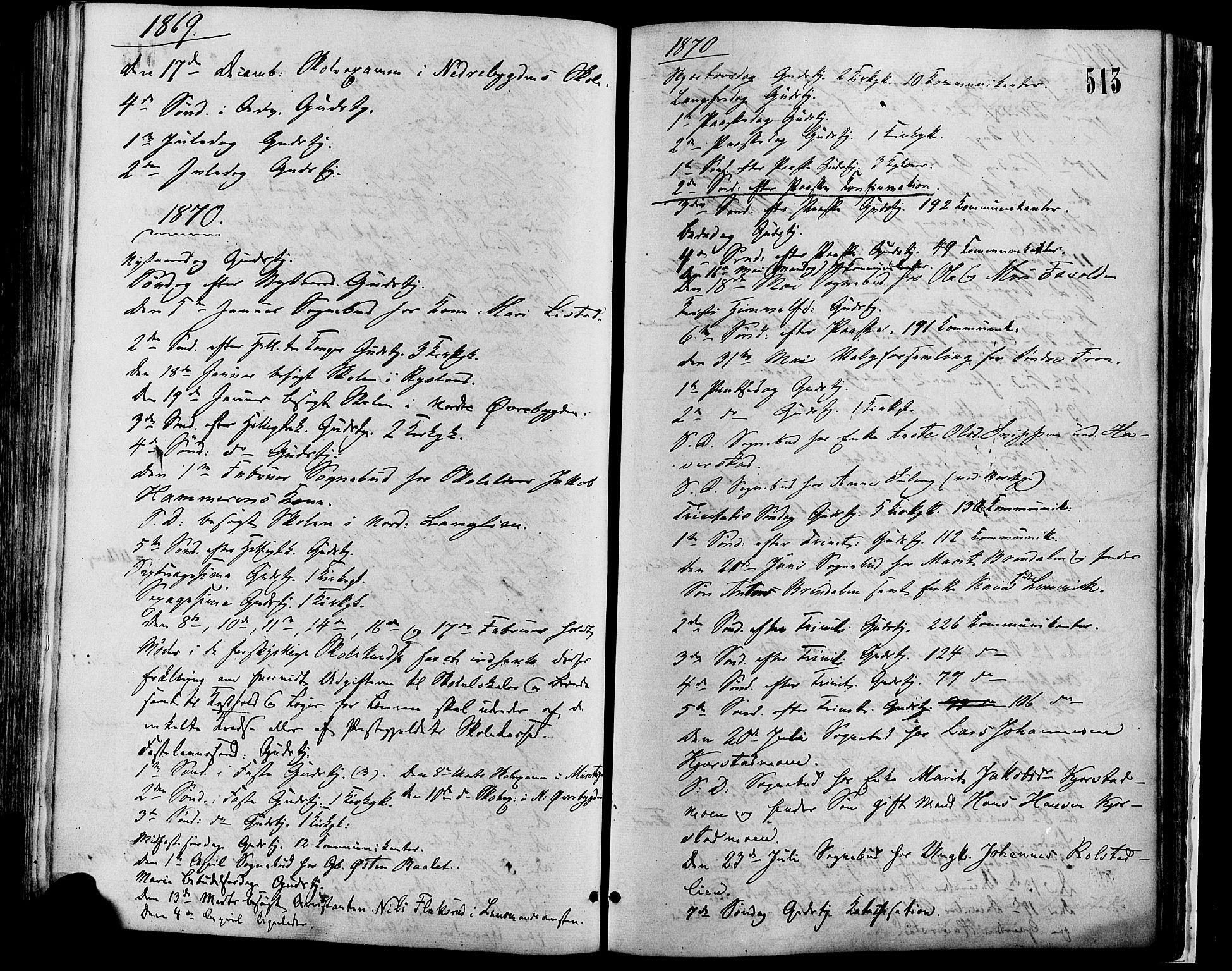 SAH, Sør-Fron prestekontor, H/Ha/Haa/L0002: Ministerialbok nr. 2, 1864-1880, s. 513