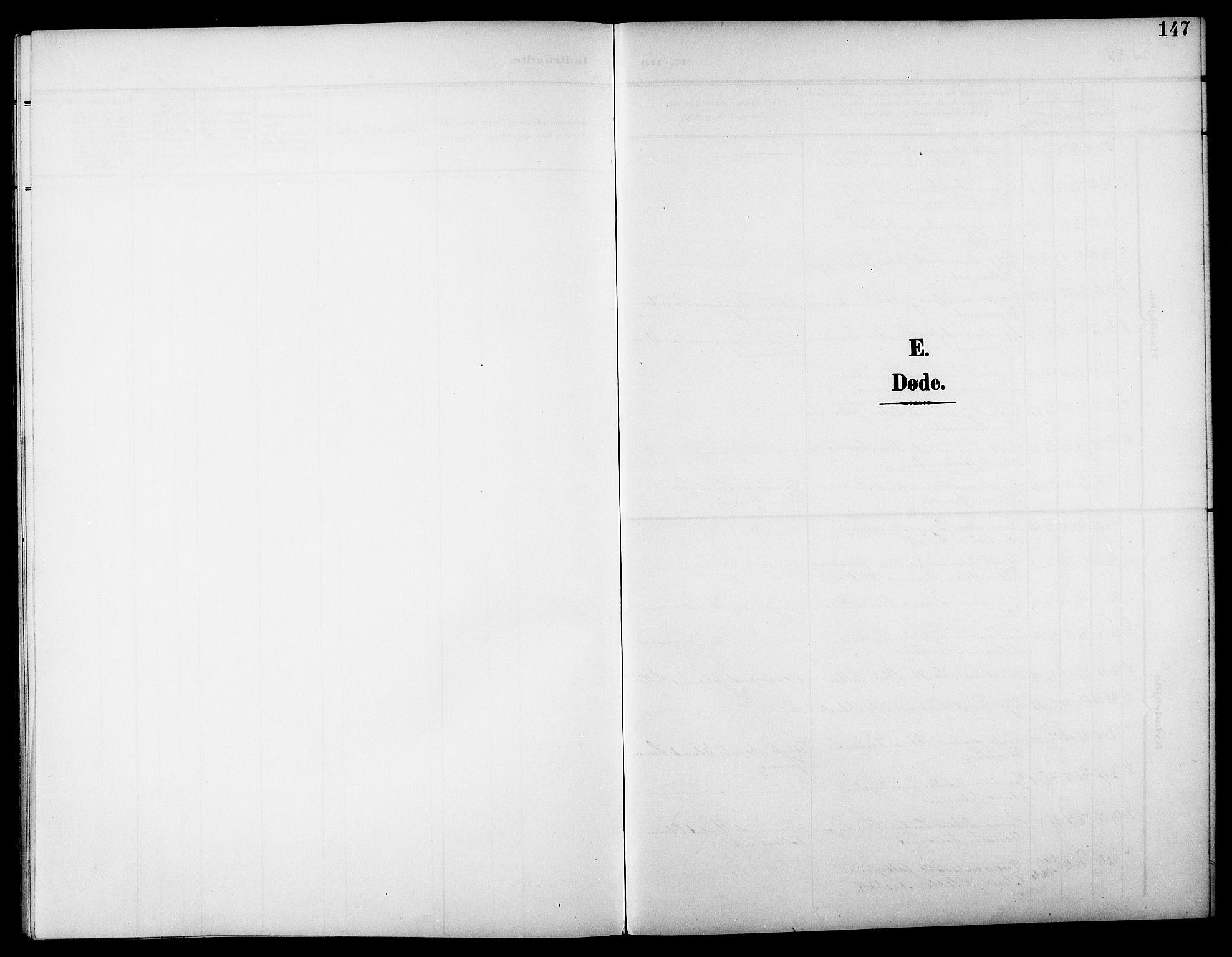 SAT, Ministerialprotokoller, klokkerbøker og fødselsregistre - Nord-Trøndelag, 744/L0424: Klokkerbok nr. 744C03, 1906-1923, s. 147