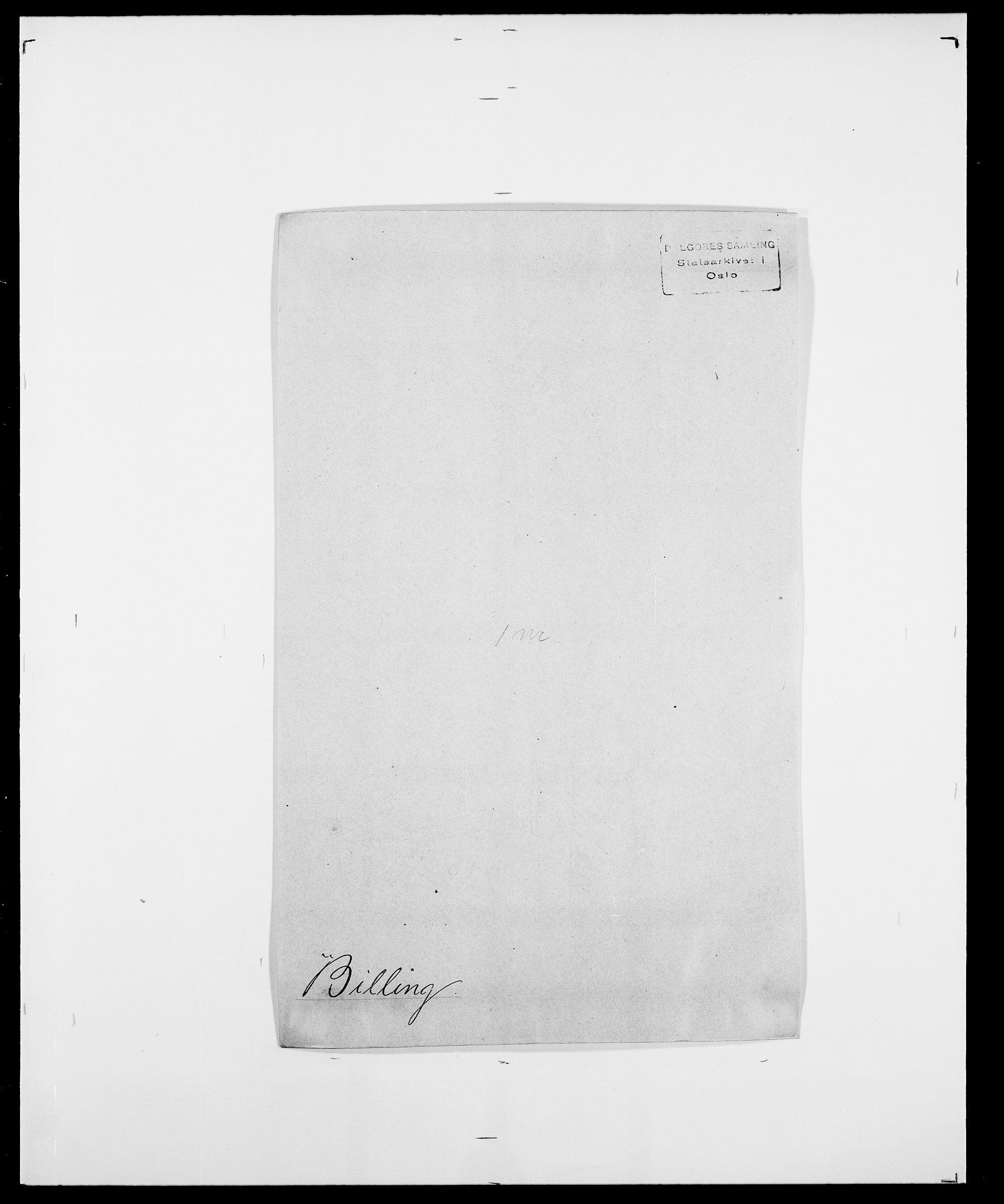 SAO, Delgobe, Charles Antoine - samling, D/Da/L0004: Bergendahl - Blære, s. 301