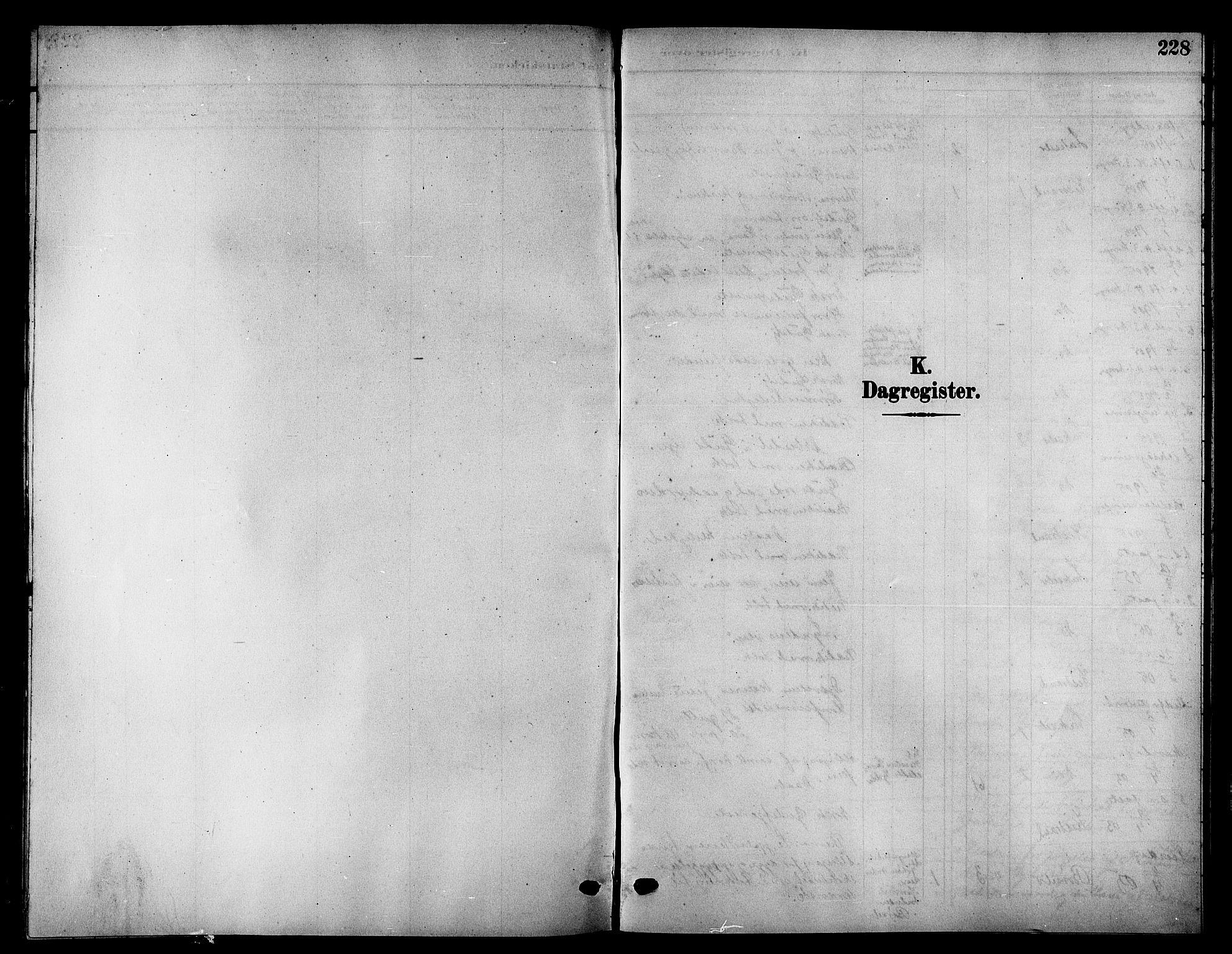 SATØ, Kistrand/Porsanger sokneprestembete, H/Hb/L0006.klokk: Klokkerbok nr. 6, 1905-1917, s. 228