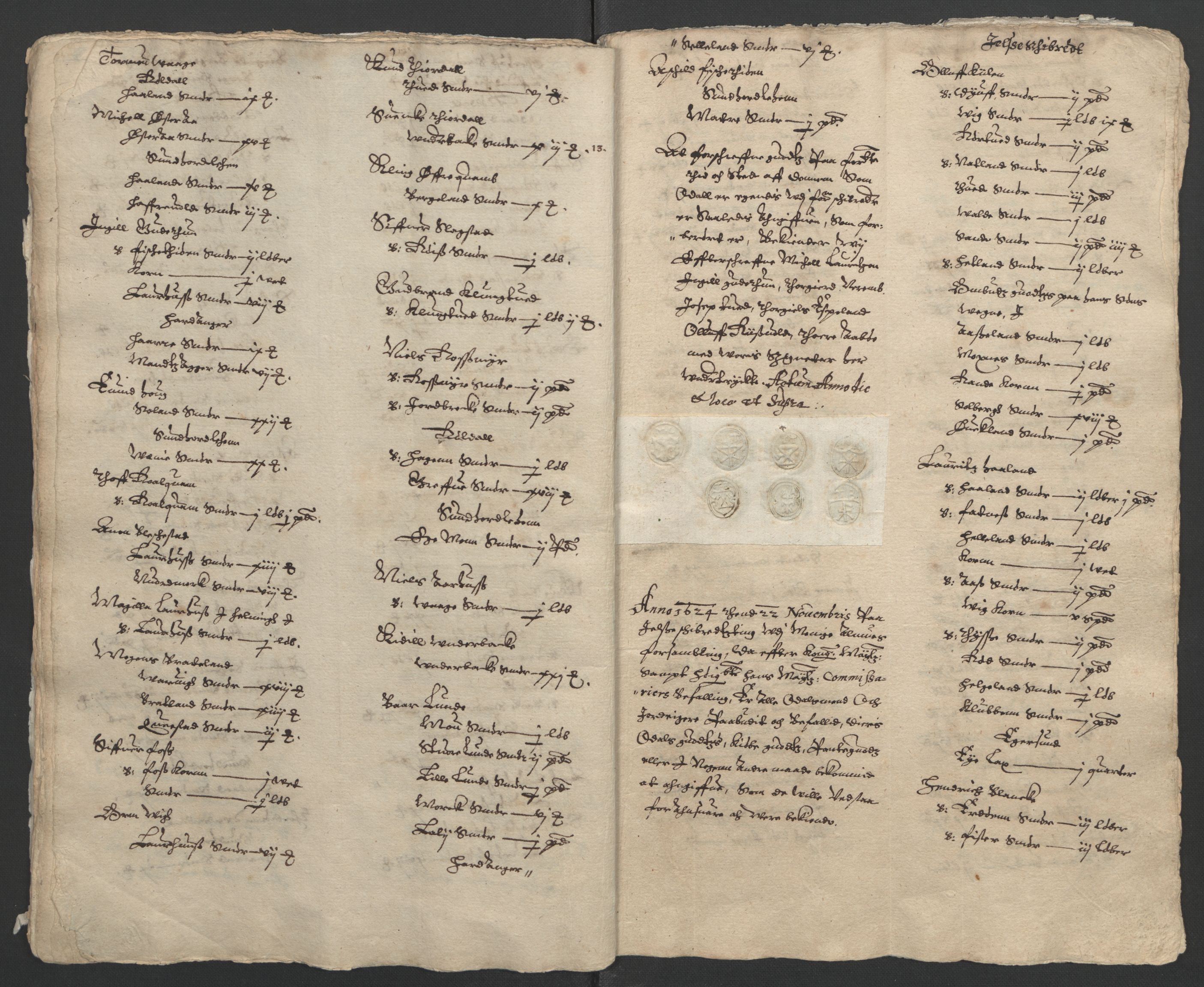 RA, Stattholderembetet 1572-1771, Ek/L0010: Jordebøker til utlikning av rosstjeneste 1624-1626:, 1624-1626, s. 21