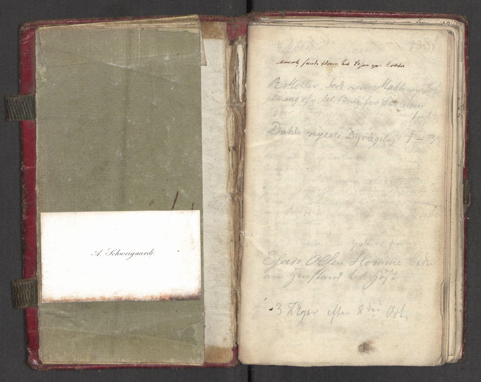 RA, Faye, Andreas, F/Ff/L0023, 1790-1865