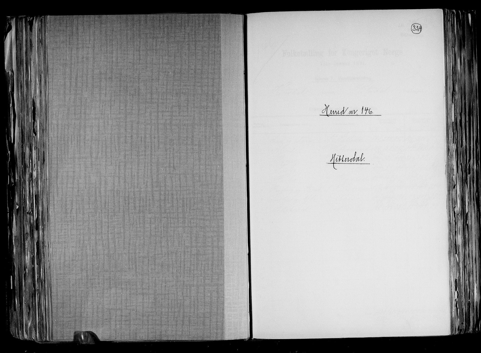 RA, Folketelling 1891 for 0823 Heddal herred, 1891, s. 1