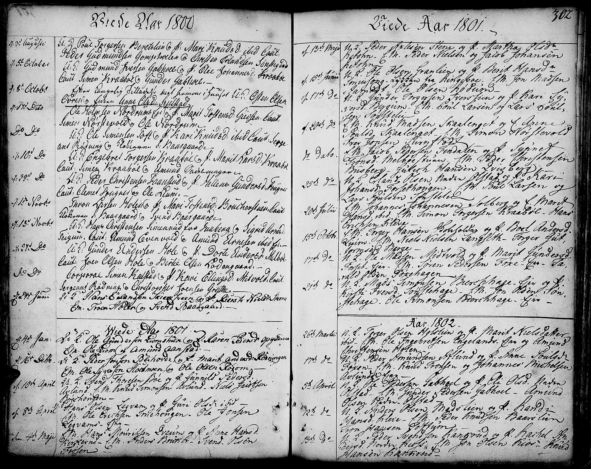 SAH, Gausdal prestekontor, Ministerialbok nr. 3, 1758-1809, s. 302