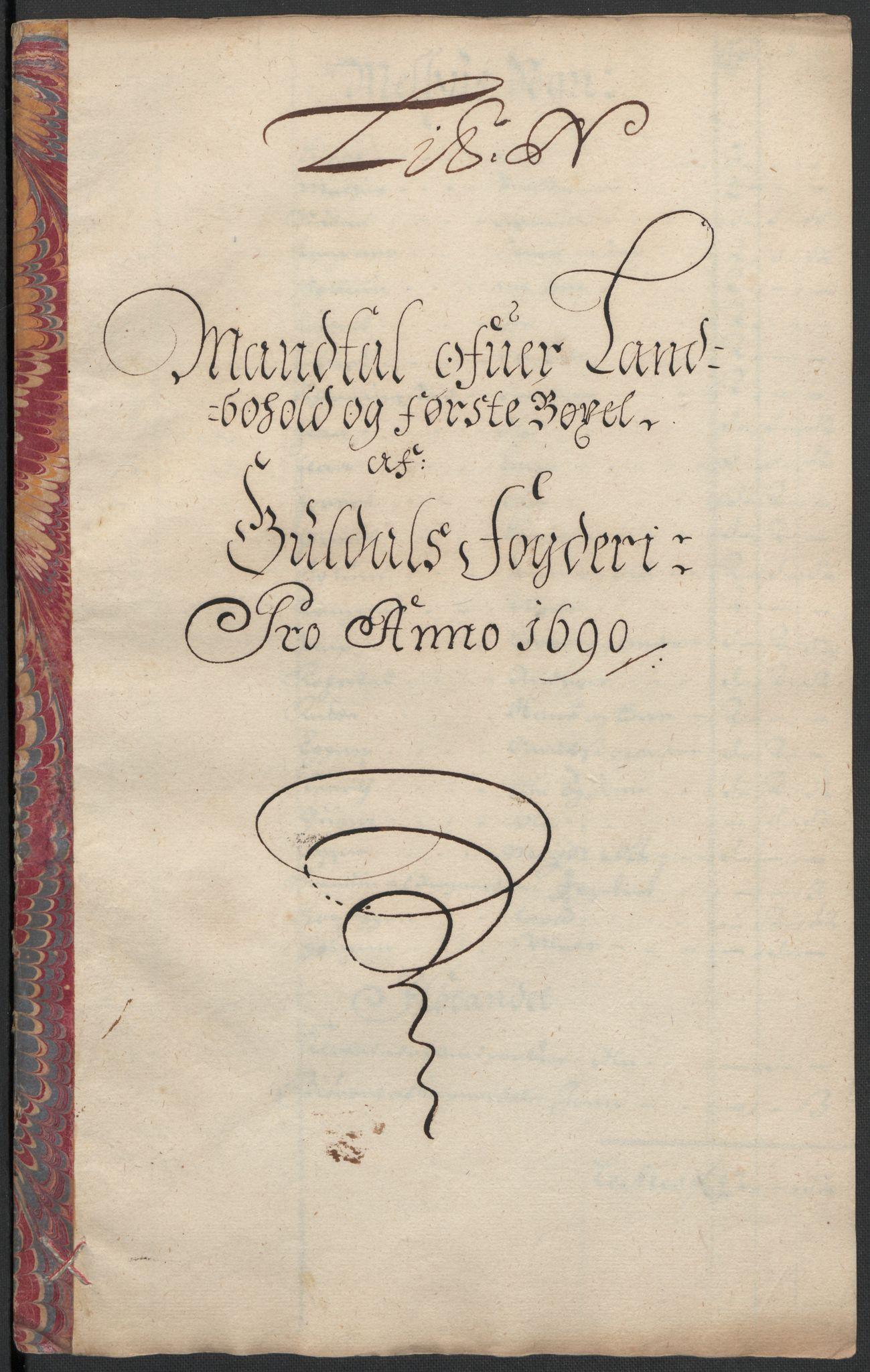 RA, Rentekammeret inntil 1814, Reviderte regnskaper, Fogderegnskap, R59/L3940: Fogderegnskap Gauldal, 1689-1690, s. 344