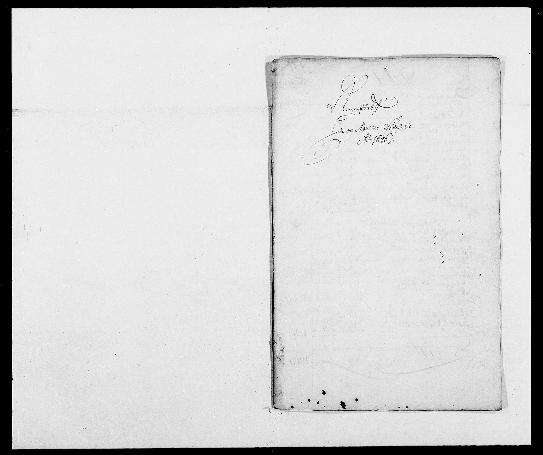 RA, Rentekammeret inntil 1814, Reviderte regnskaper, Fogderegnskap, R01/L0006: Fogderegnskap Idd og Marker, 1685-1686, s. 208