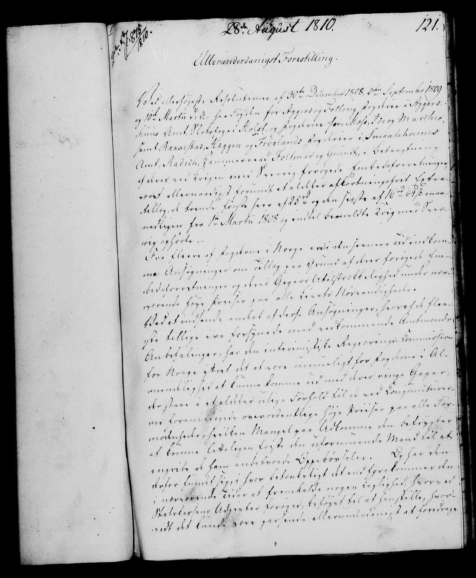RA, Rentekammeret, Kammerkanselliet, G/Gf/Gfa/L0092: Norsk relasjons- og resolusjonsprotokoll (merket RK 52.92), 1810, s. 472
