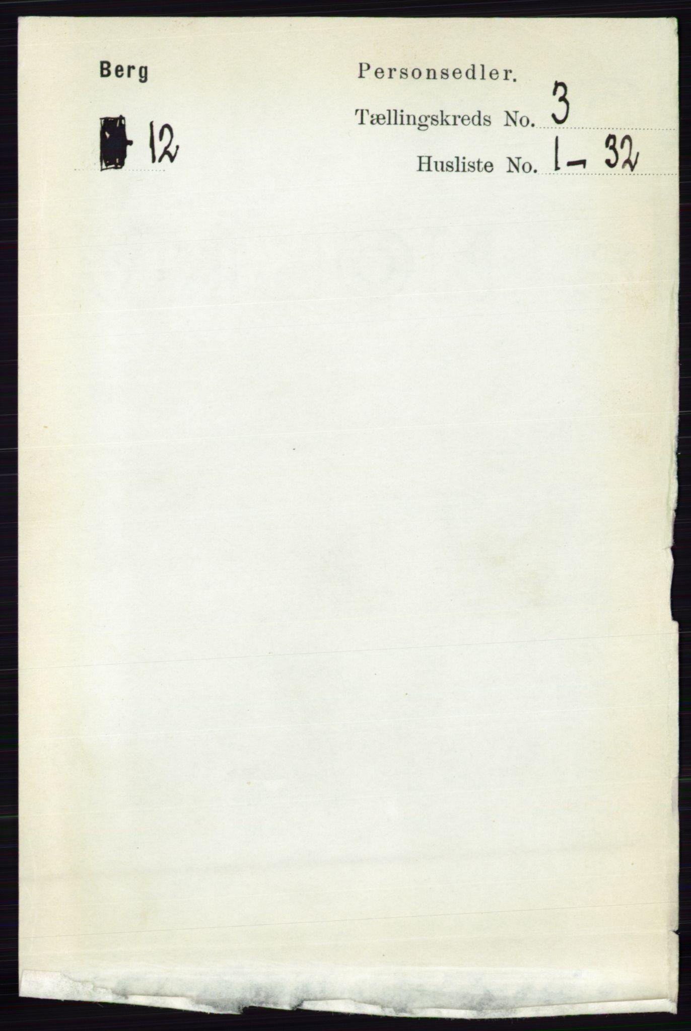RA, Folketelling 1891 for 0116 Berg herred, 1891, s. 1887